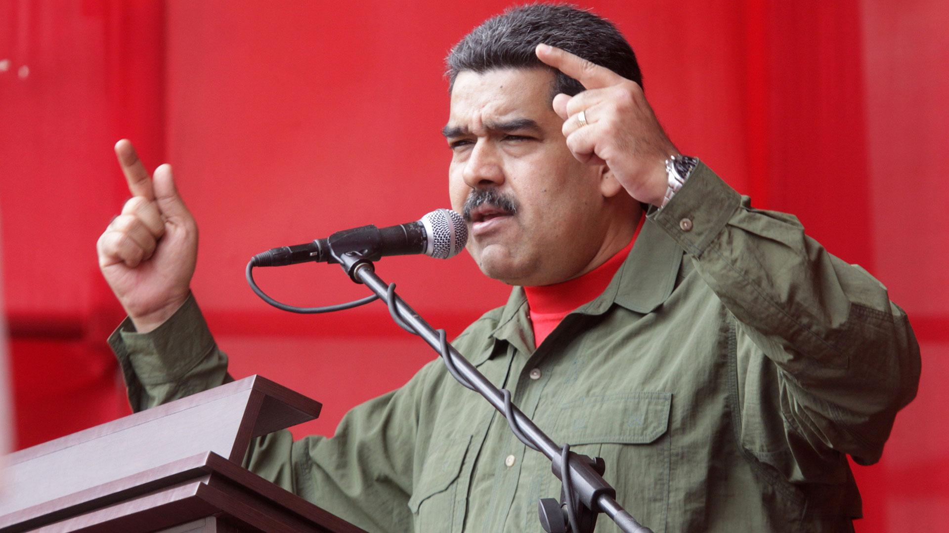 El dictador venezolano Nicolás Maduro (EFE)