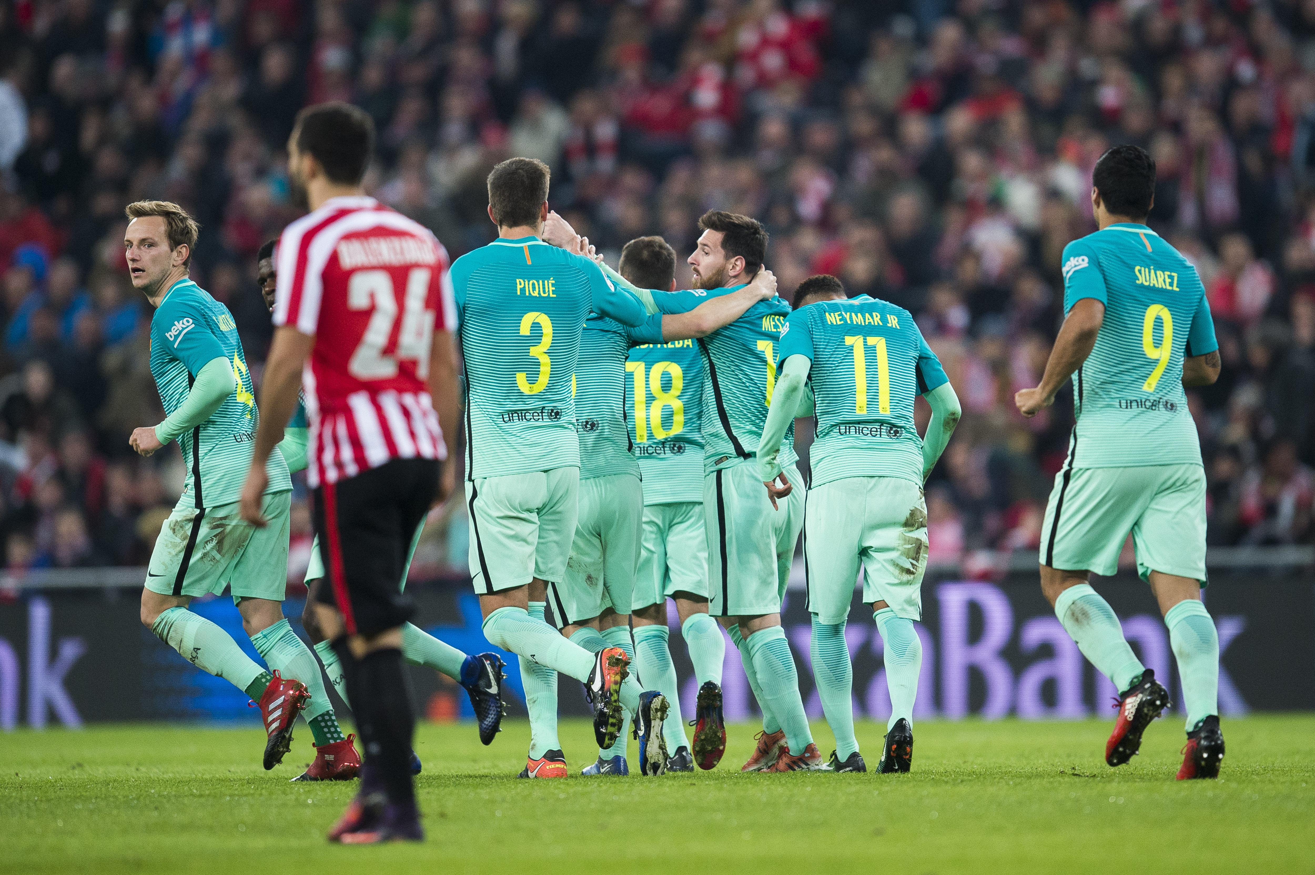 5 1  Messi convirtió en el primer partido del año. Fue por la 3e2759661788e