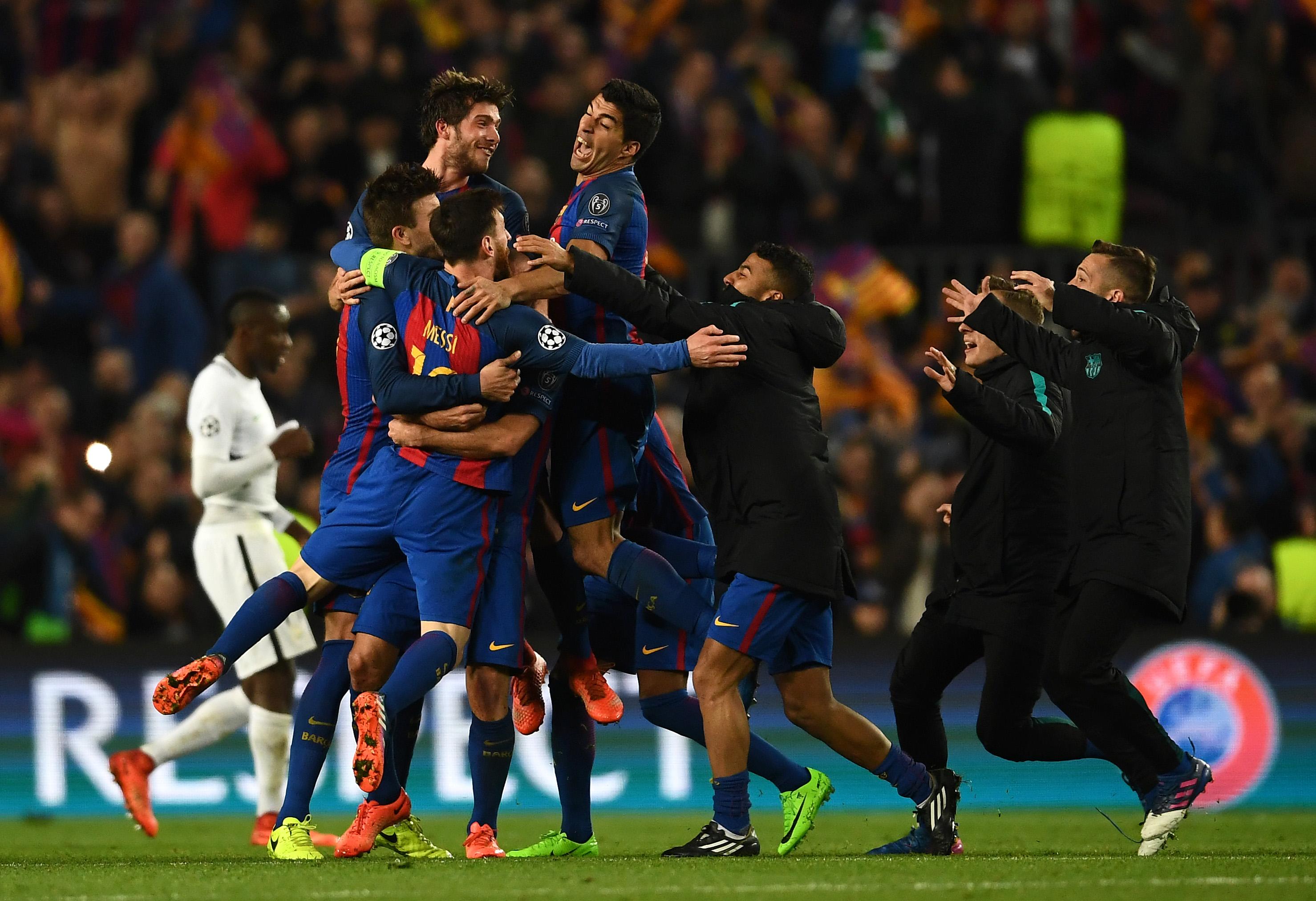 8 3  el Barcelona remontó un 0-4 por los octavos de final f87812695a8e0