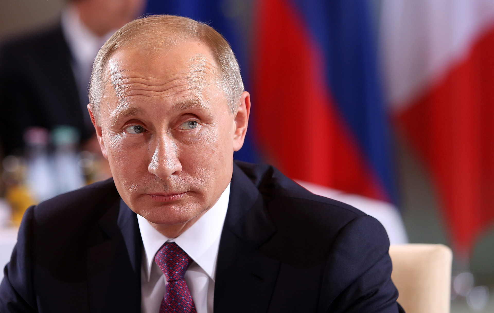 El presidente de Rusia, Vladimir Putin. Muchos de los millonarios involucrados en el lavado de dinero tienen vínculos con su gobierno (Getty)