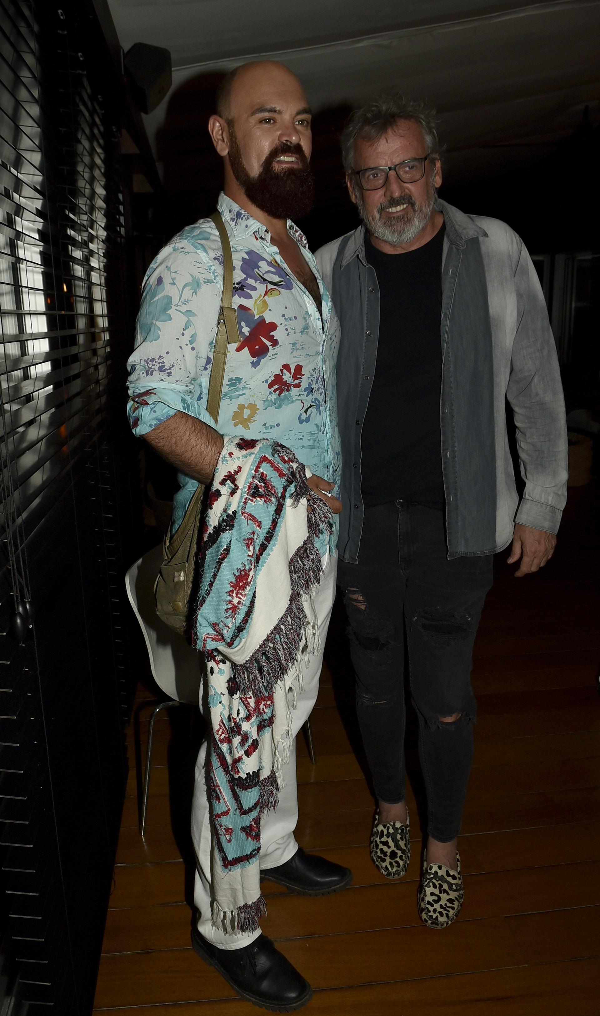 El diseñador Benito Fernández y Zeus