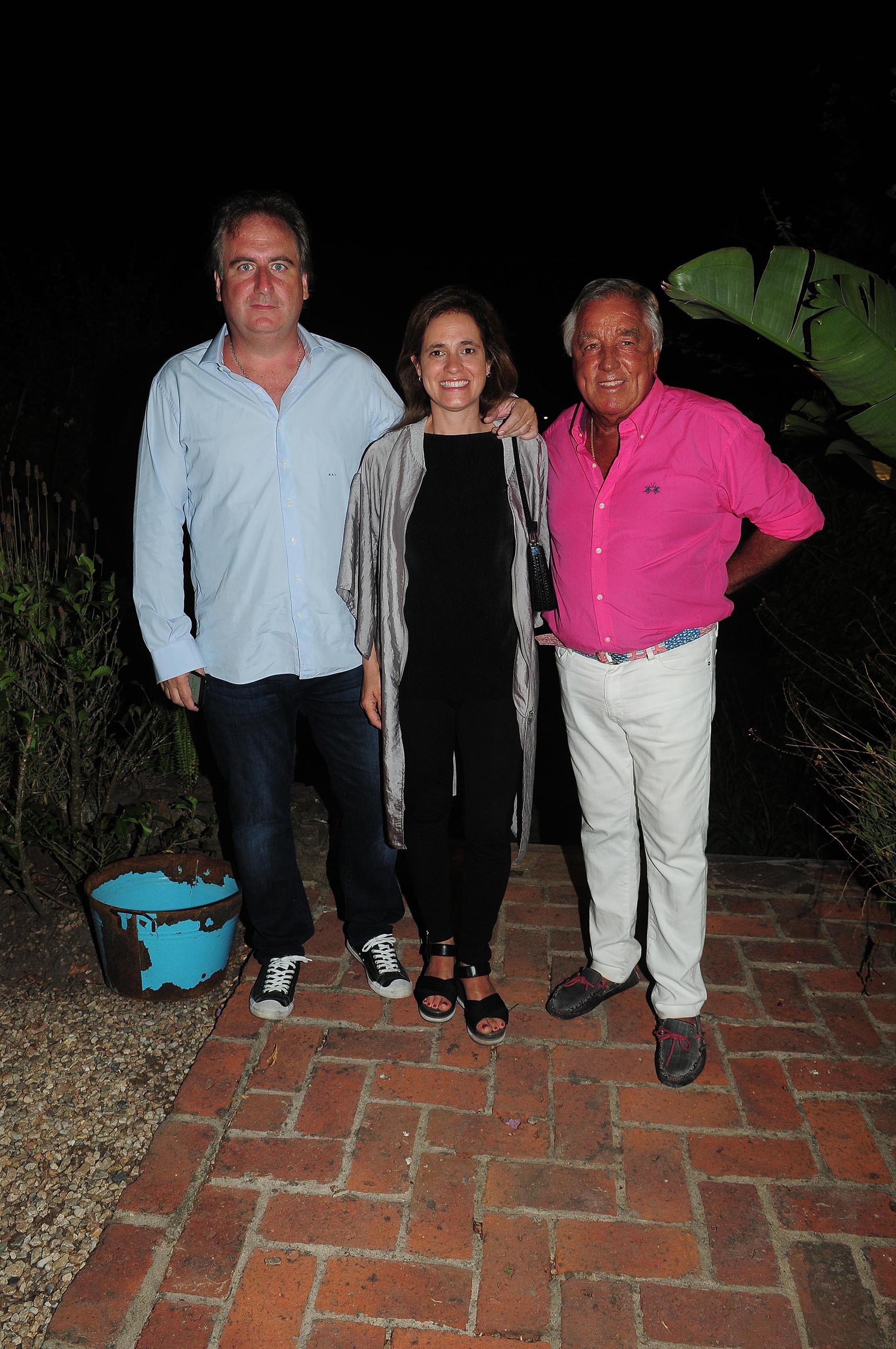 Tato Lanusse, Silvina Pueyrredon y Julio De Marco