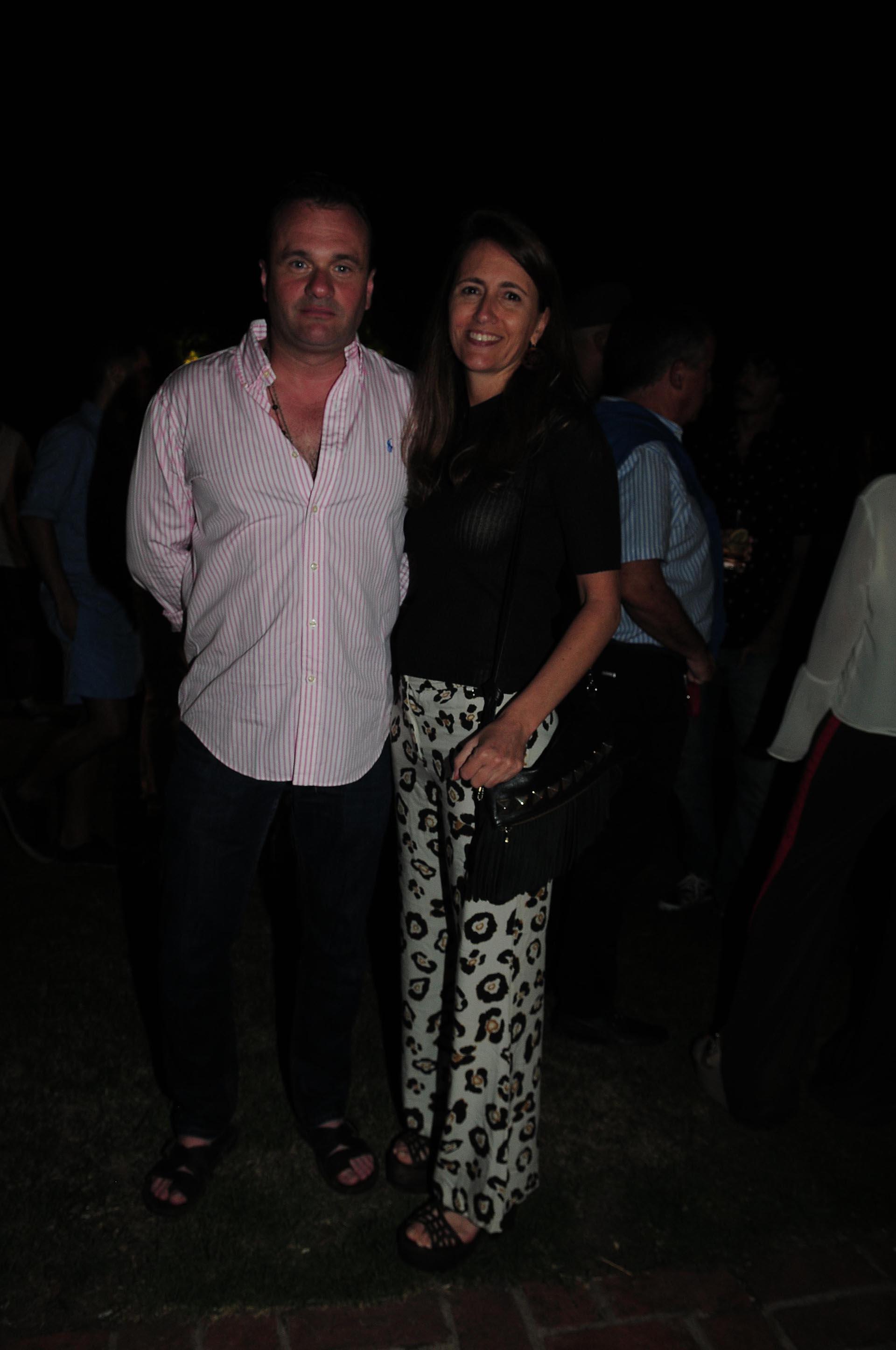 Juan Pablo y Magdalena Maglier