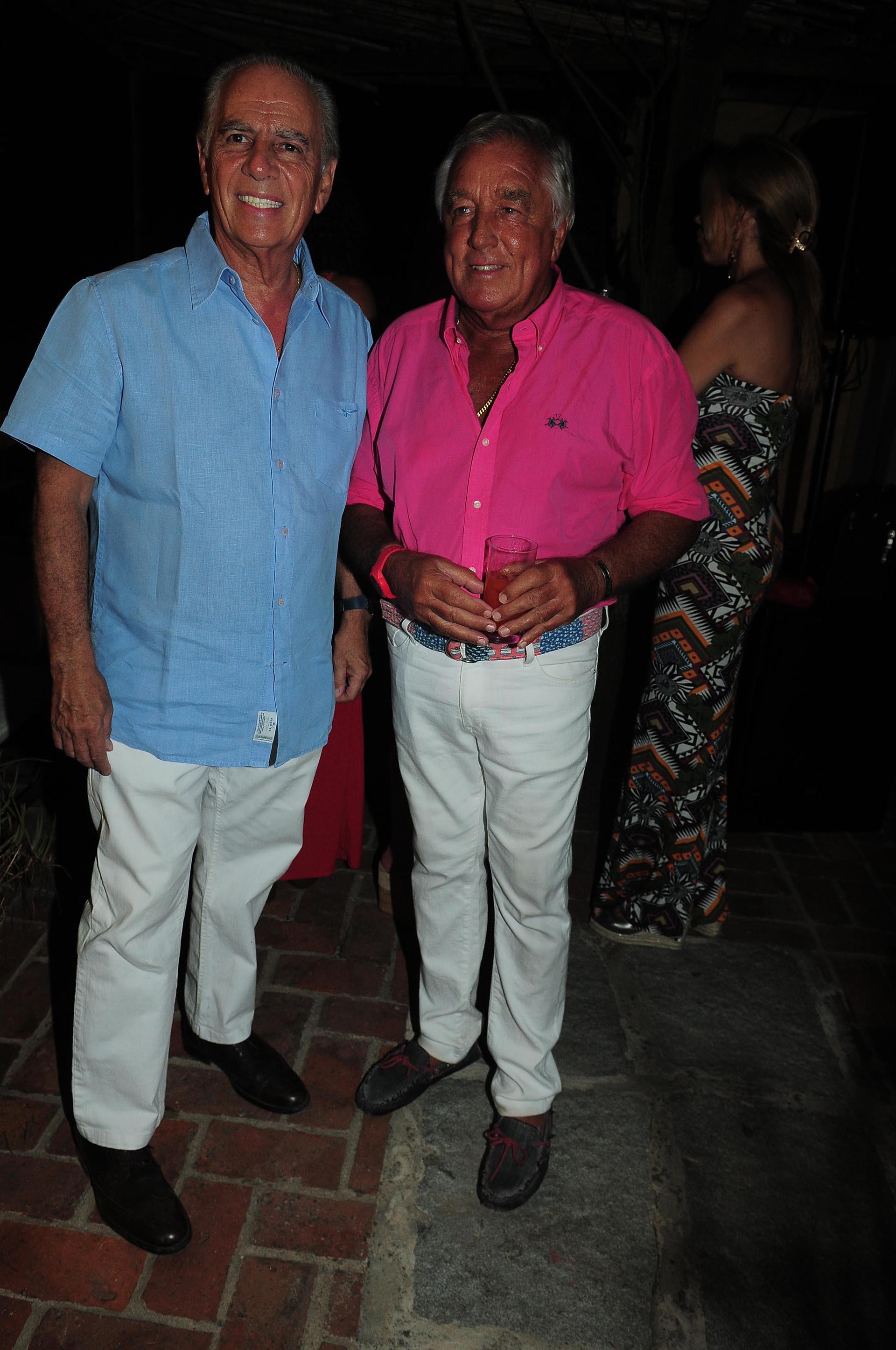 Alejandro Bulgheroni y Julio De Marco