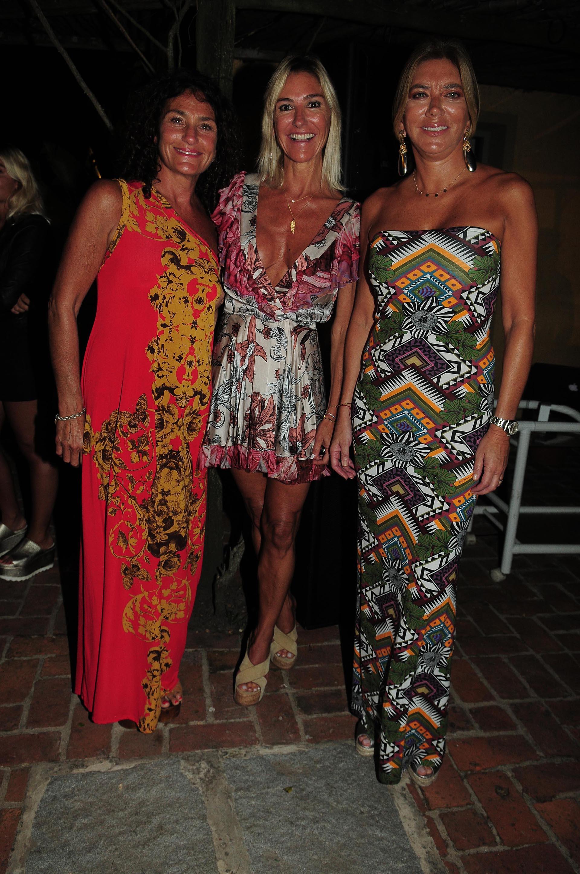 Alejandra Stefani, Gabriela Castellani y Bettina Bulgheroni