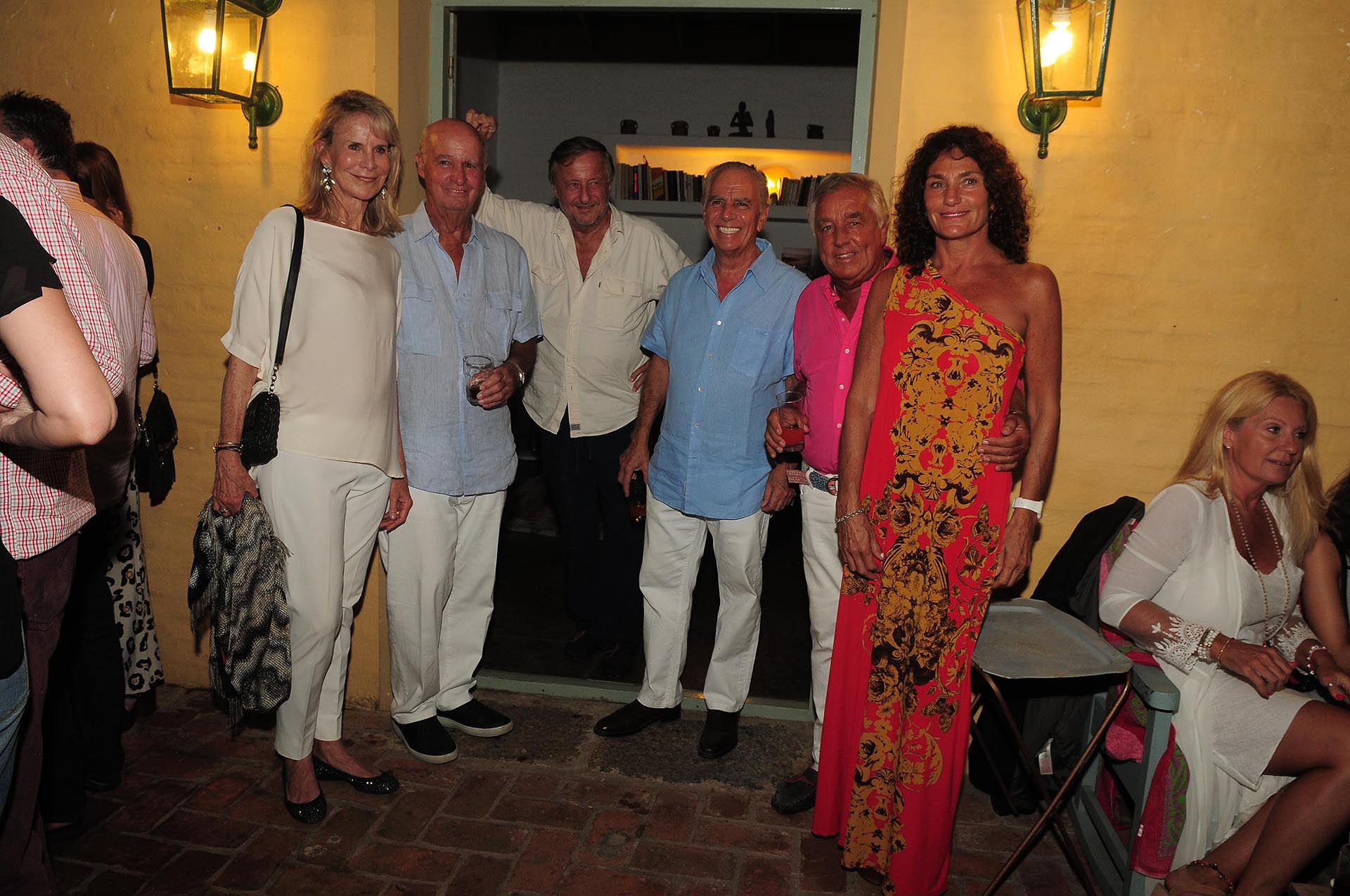 Pompi Chopitea, Carlos Fontán Balestra, Cristiano Rattazzi, Alejandro Bulgheroni, Julio De Marco y Alejandra Stefani