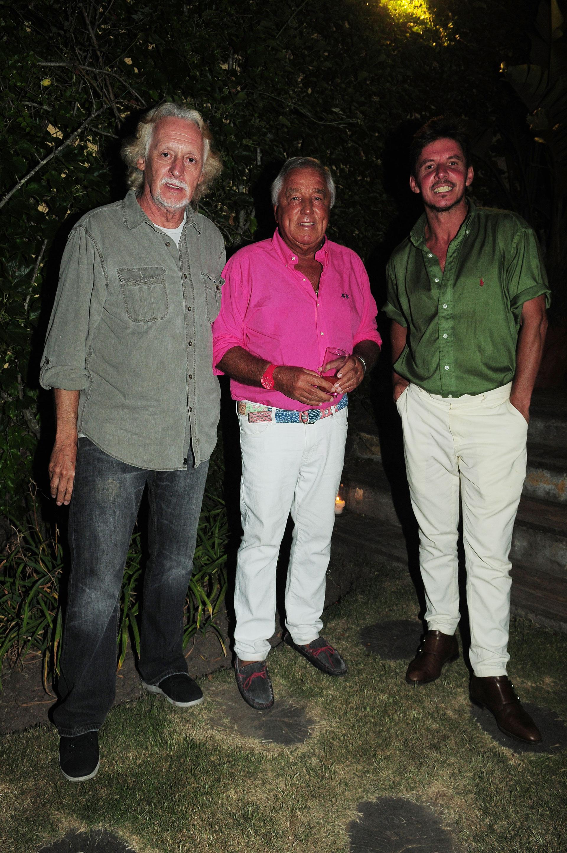 Nito Mestre, Julio De Marco y Gerard Confalonieri