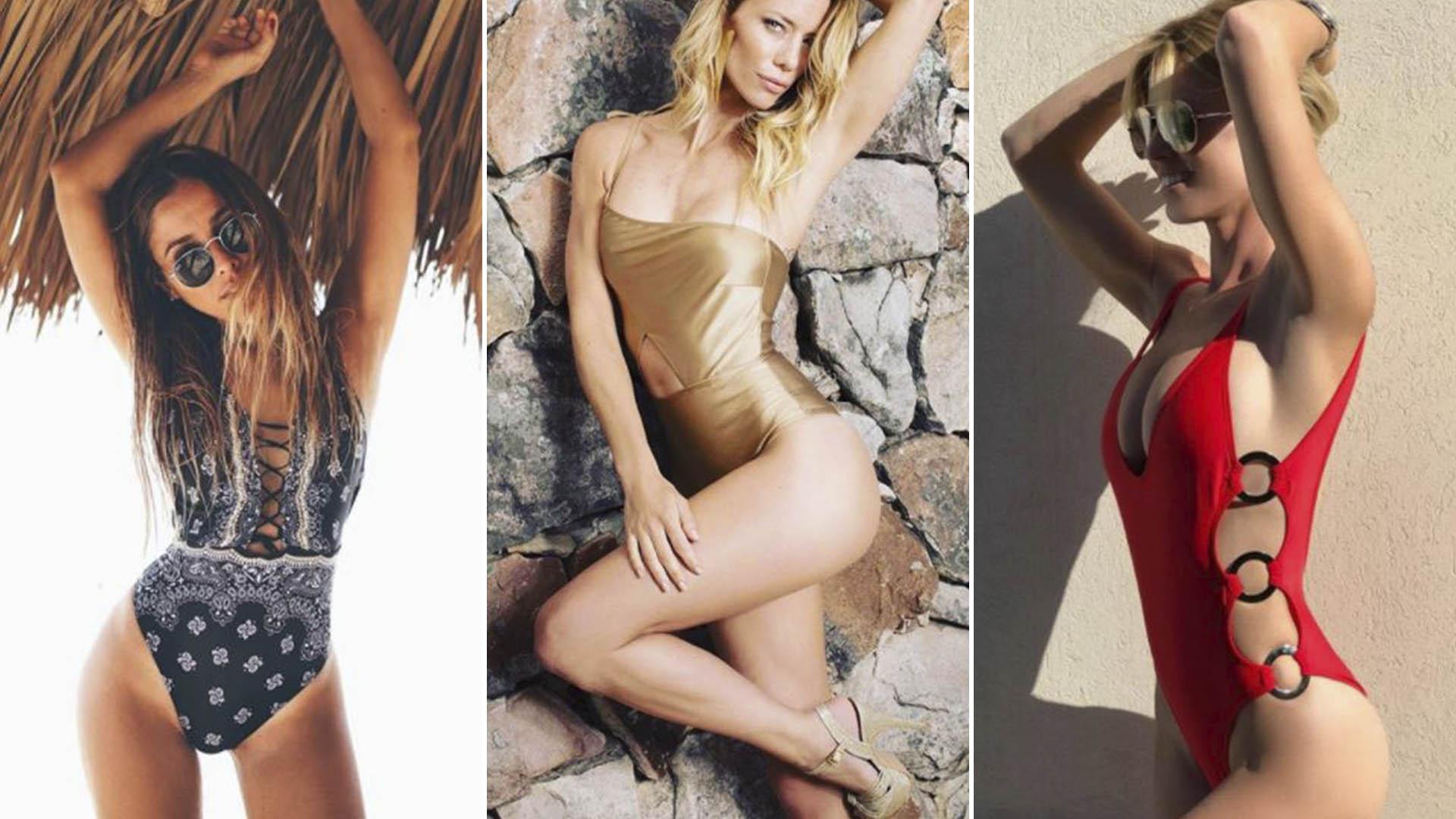 b8015474b3ee Bikinis vs enterizas: los mejores diseños de trajes de baño que ...