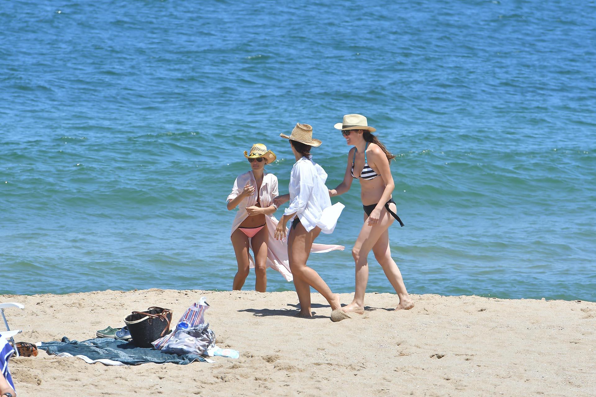 Desde diciembre, Carolina se instaló en Punta del Este para descansar. Se apoya en sus amigas tras su distanciamiento del ex tenista