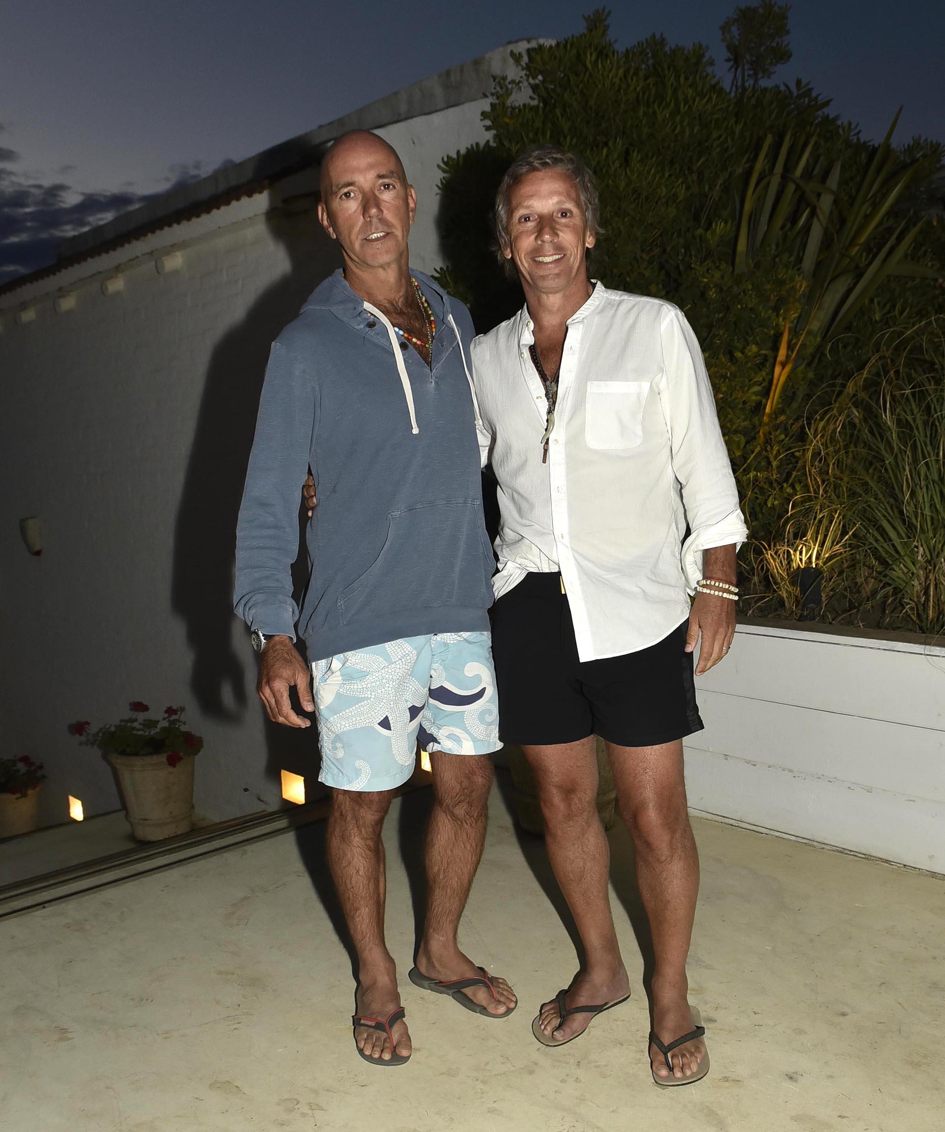 Ignacio Azumendi y Alejandro Gravier