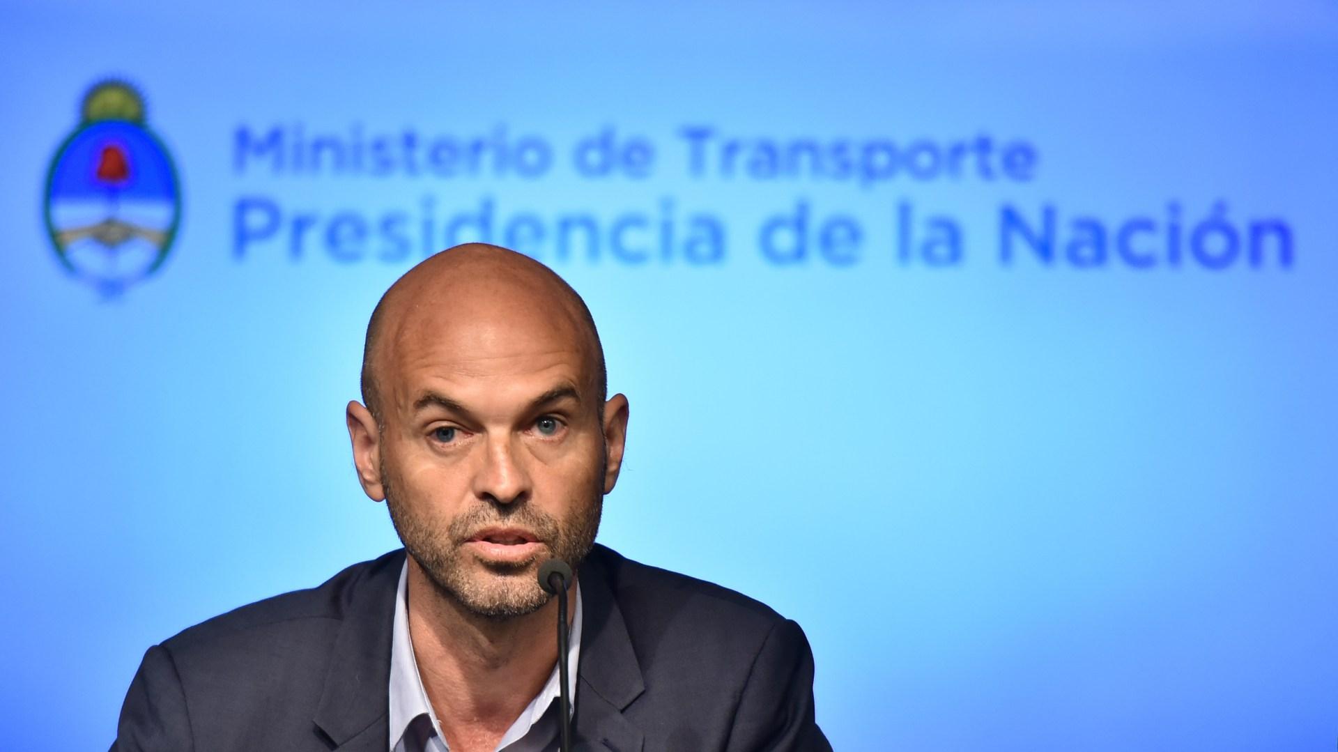 Guillermo Dietrich, ministro de Transporte (Adrián Escandar)