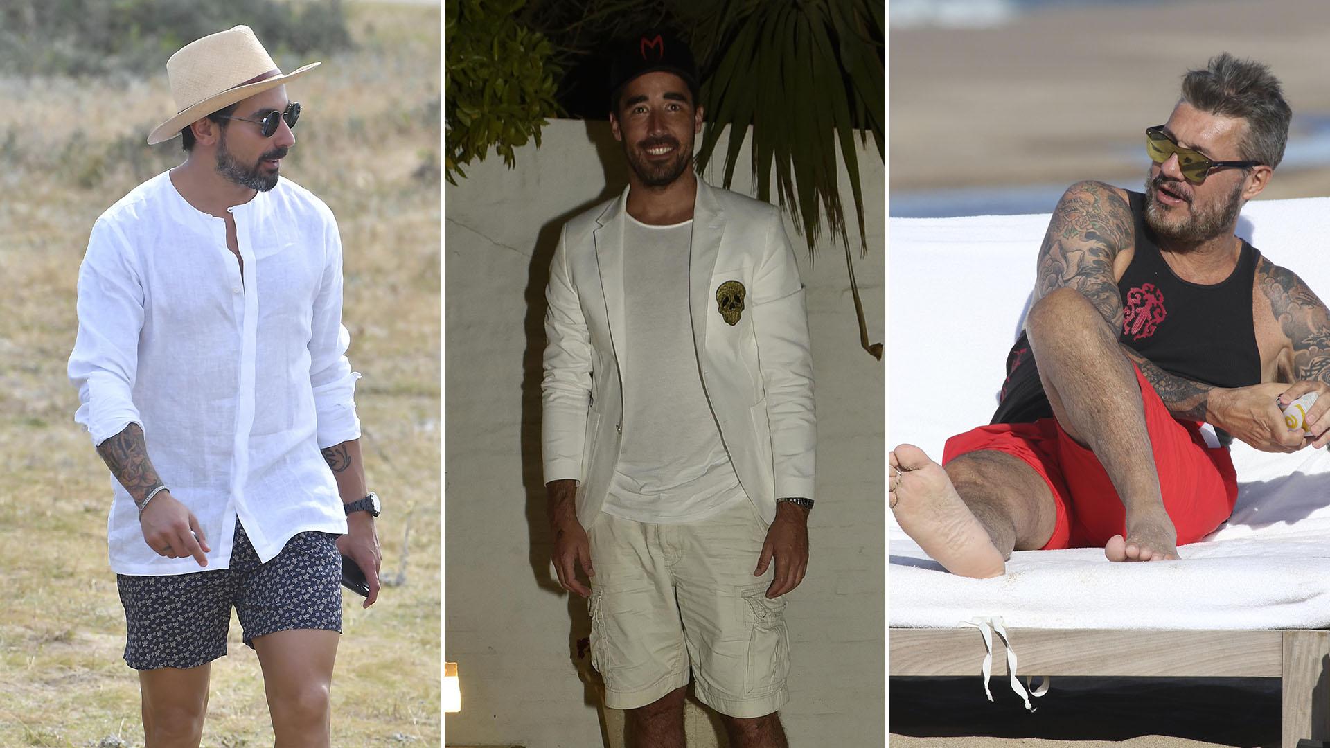 46b3bfb86 Ellos también marcan tendencia  los looks masculinos de playa más trendy de  este verano 2018 - Infobae