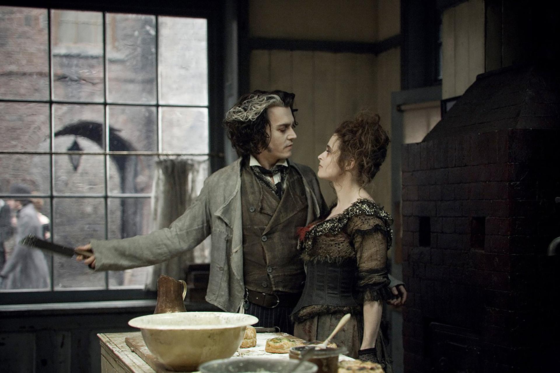 Sweeney Todd, el barbero demoníaco de la calle Fleet (2008) – 65ª edición.Dirigida por Tim Burton.Ganó 2 Globos de Oro: mejor película (comedia o musical) y mejor actor