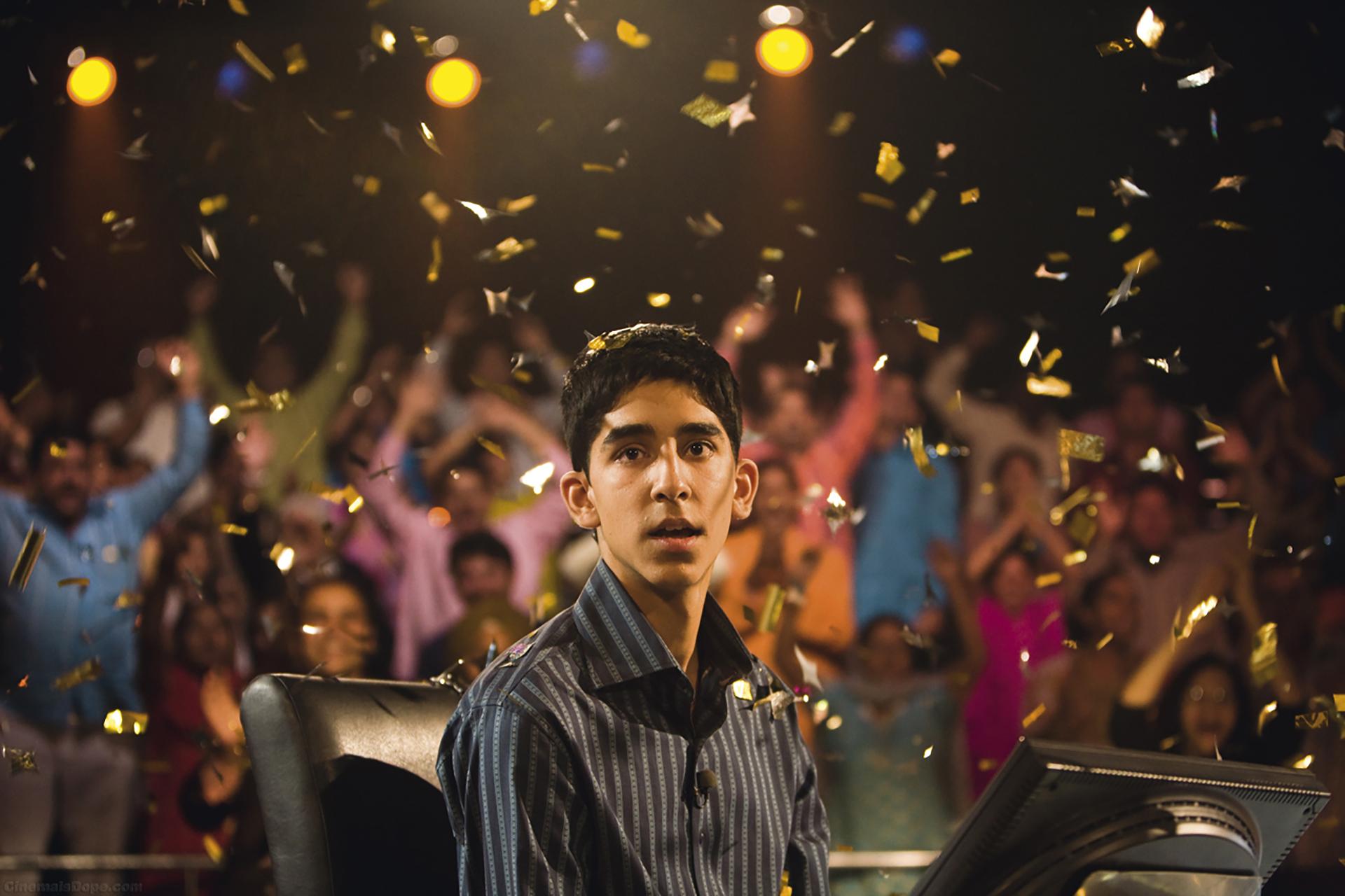 ¿Quién quiere ser millonario? (2009) – 66ª edición.Dirigida por Danny Boyle.Ganó 4 Globos de Oro: mejor película dramática, mejor director, mejor guión y mejor banda sonora