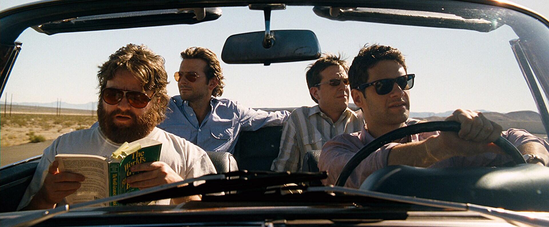 The Hangover (2010) – 67ª edición.Dirigida por Todd Phillips.Ganó un Globo de Orocomo mejor comedia