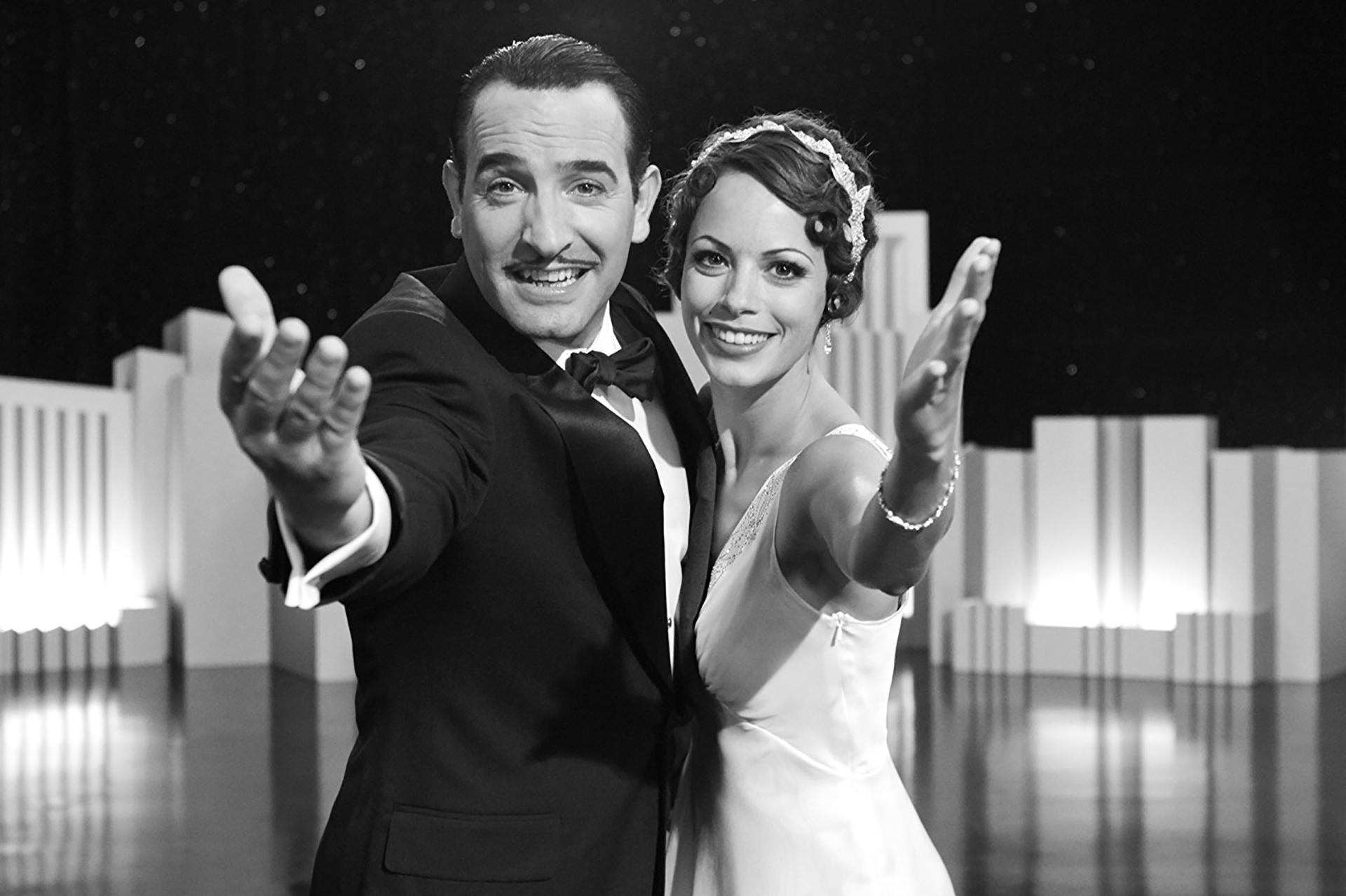 El artista (2012) – 69ª edición.Dirigida por Michel Hazanavicius.Ganó 3 Globos de Oro: mejor película (comedia o musical), mejor actor y mejor banda sonora