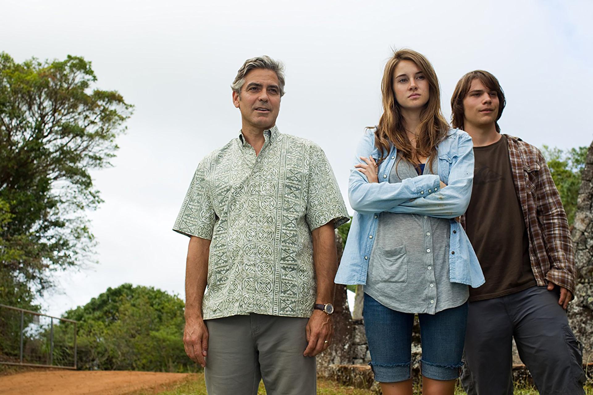 Los descendientes (2012) – 69ª edición.Dirigida por Alexander Payne.Ganó 2 Globos de Oro: mejor película dramática y mejor actor