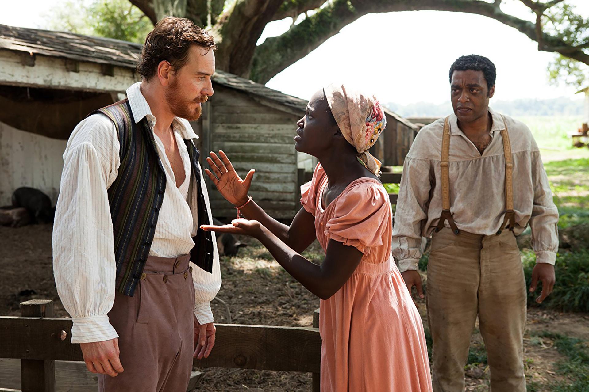 12 años de esclavitud (2014) – 71ª edición.Dirigida por Steve McQueen.Ganóun Globo de Orocomo mejor película dramática