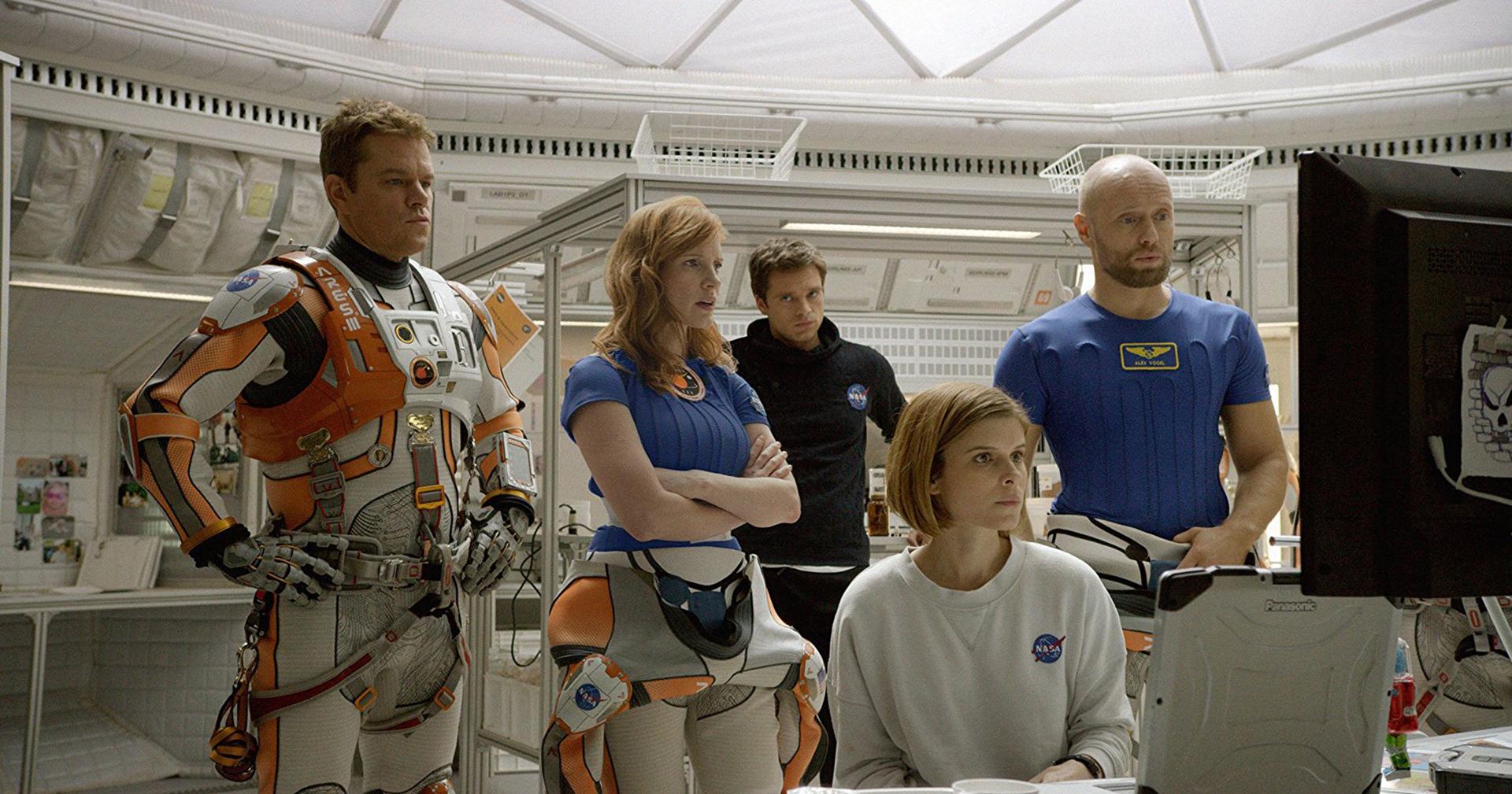 Misión Rescate (2016) – 73ª edición. Fue dirigida por Ridley Scott y ganó dos Globos de Oro: mejor película (comedia o musical) y mejor actor para Matt Damon