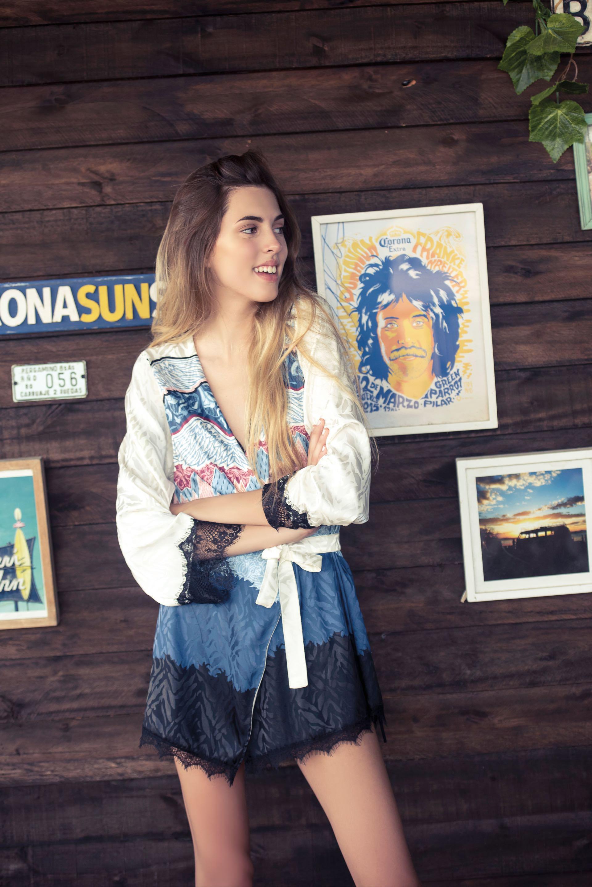 Kimono corto. Foto: Maia Croizet/ Para Ti