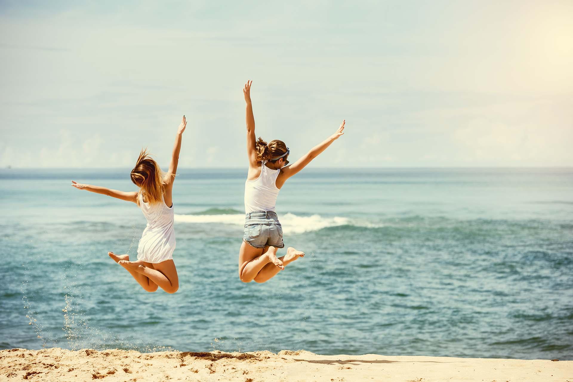 Viajar con amigos es una manera de despejarse (Getty)