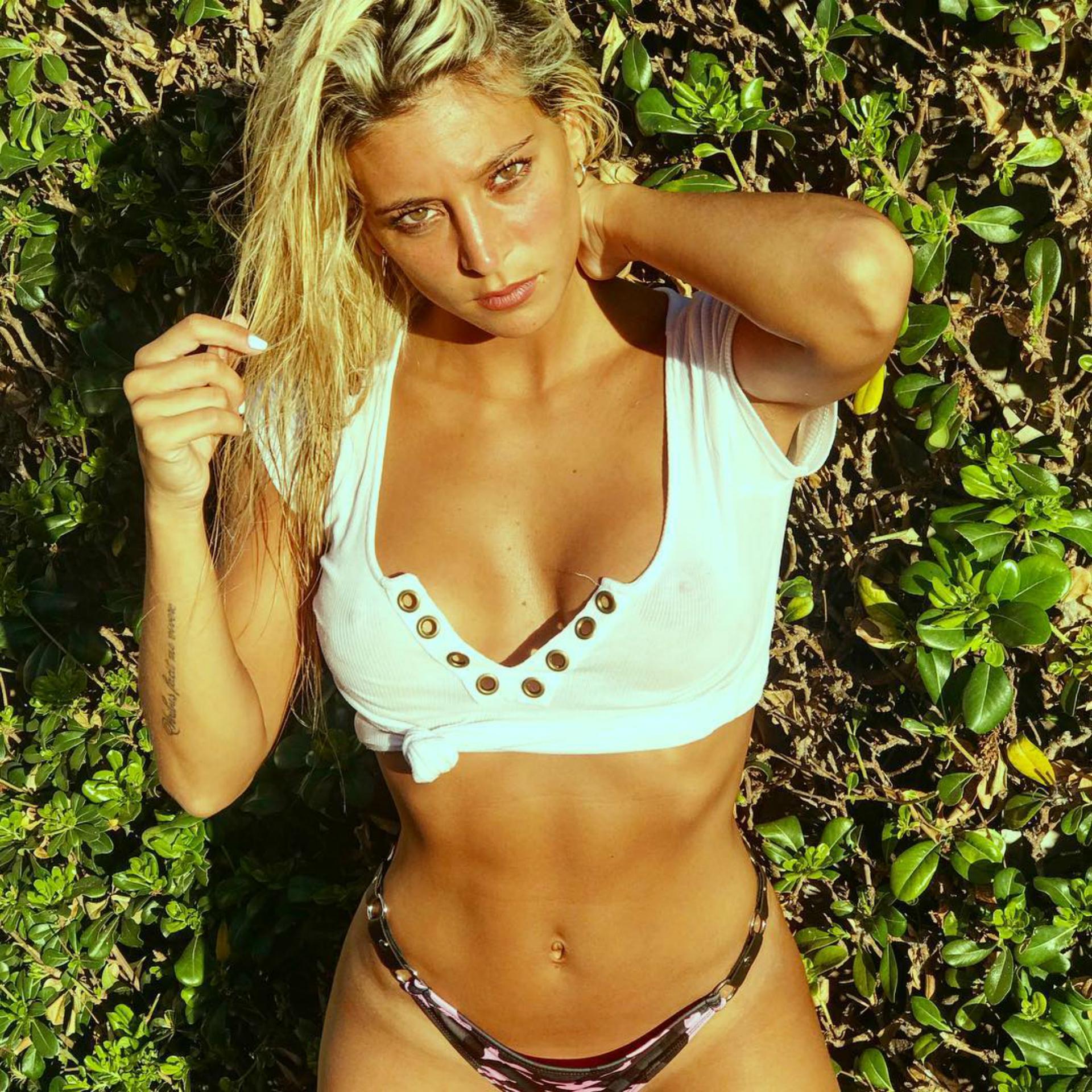 """En las redes se hizo conocida como """"La sobrina de Pérez"""", debido al parentesco que tiene con el periodista de básquet Fabián Pérez"""