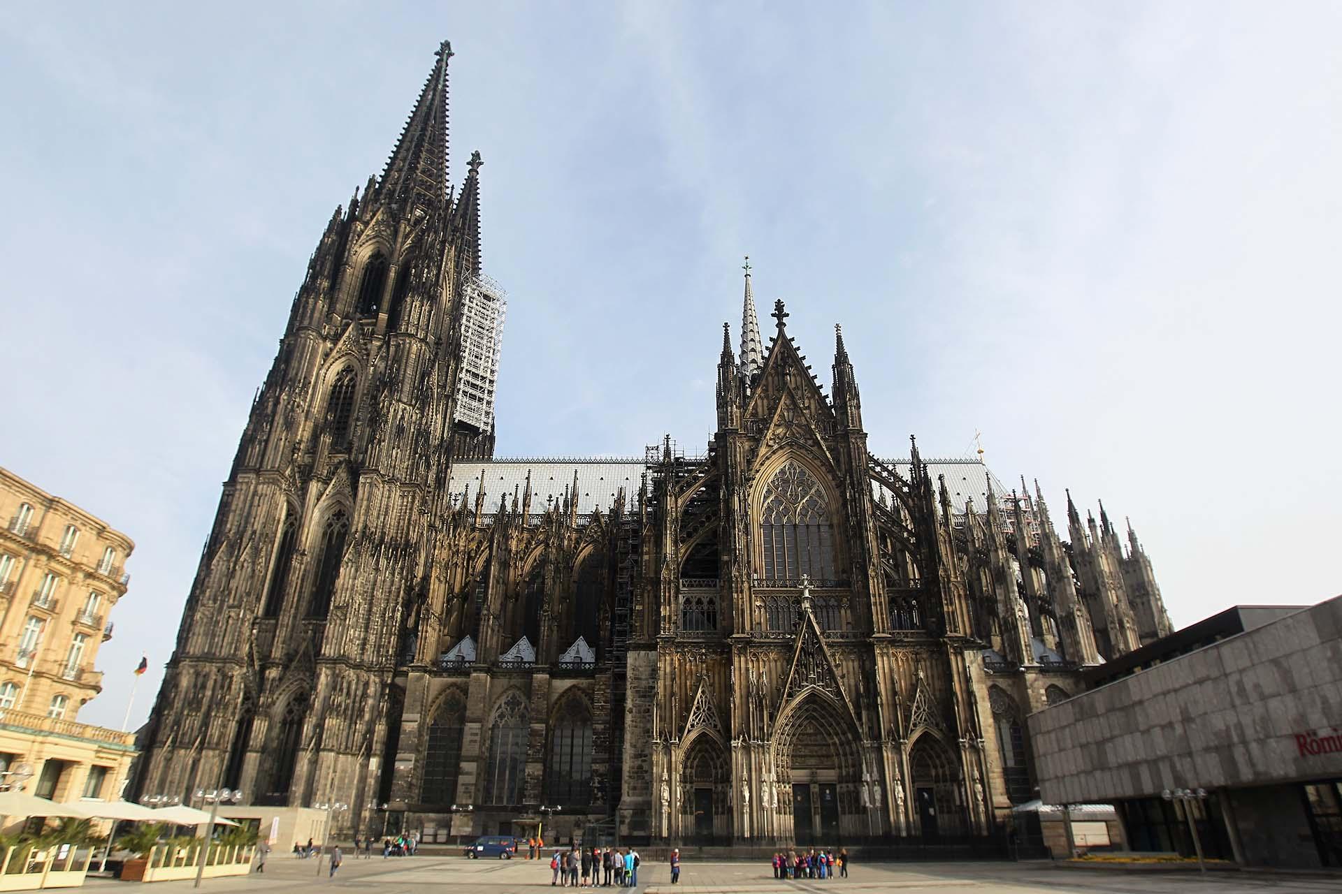 La catedral comenzó a construirse en el siglo XIII y se cuiminó seis siglos más tarde (Getty Images)