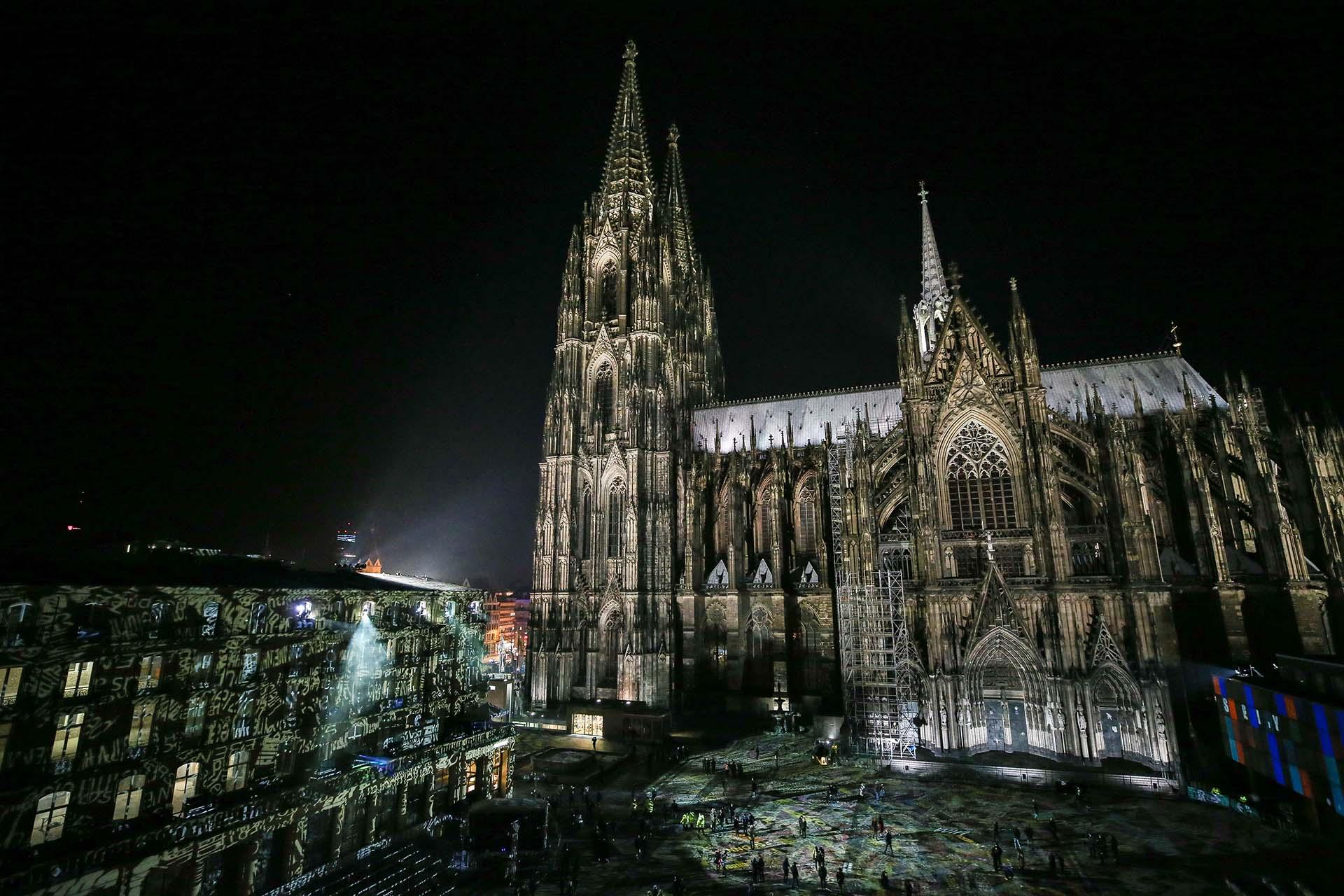 La Catedral de Colonia (Alemania) se construyó para albergar el relicario con los resto de los Reyes Magos (Getty Images)
