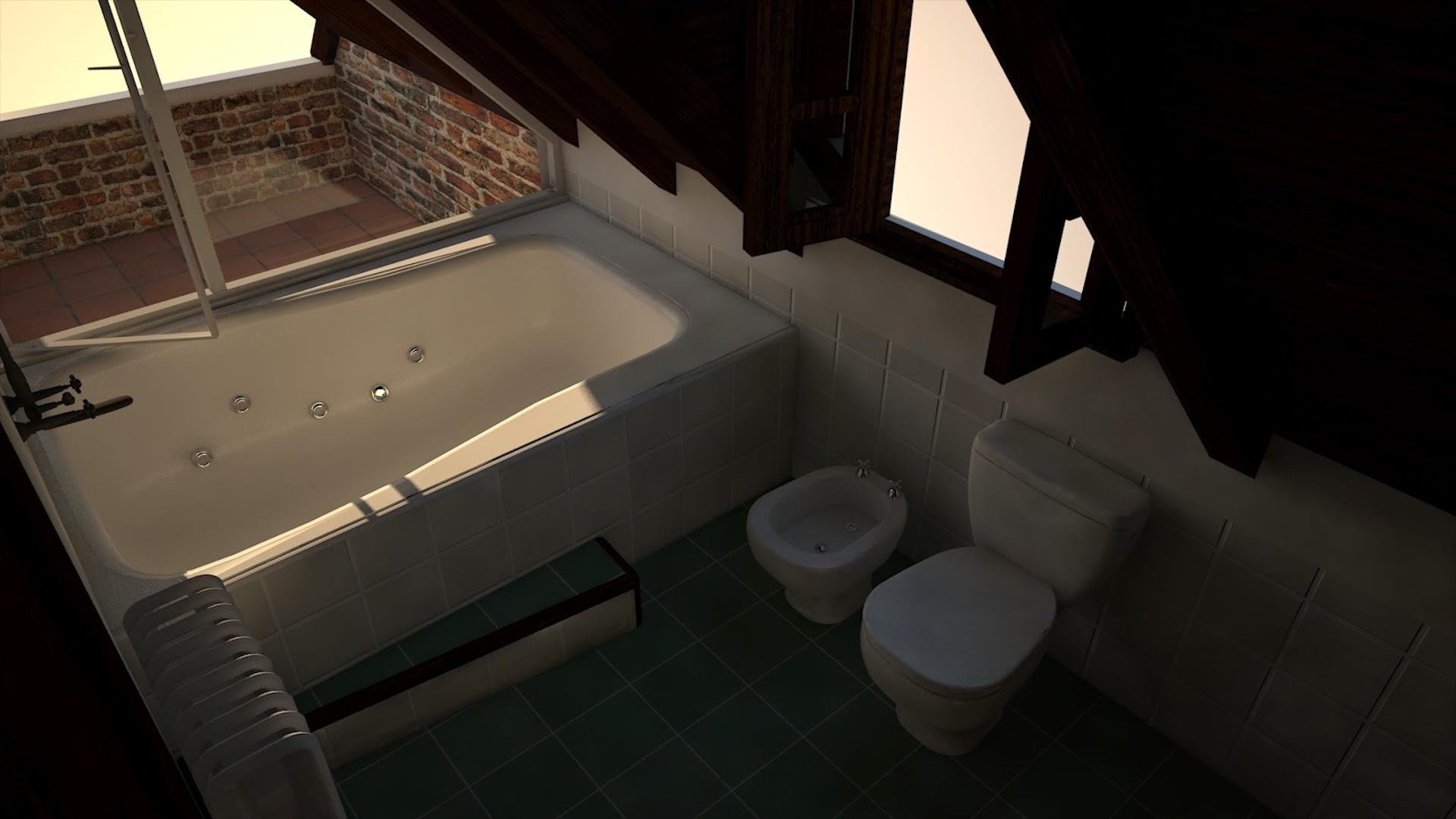 La imagen de la bañadera donde fue encontrada sin vida María Marta García Belsunce