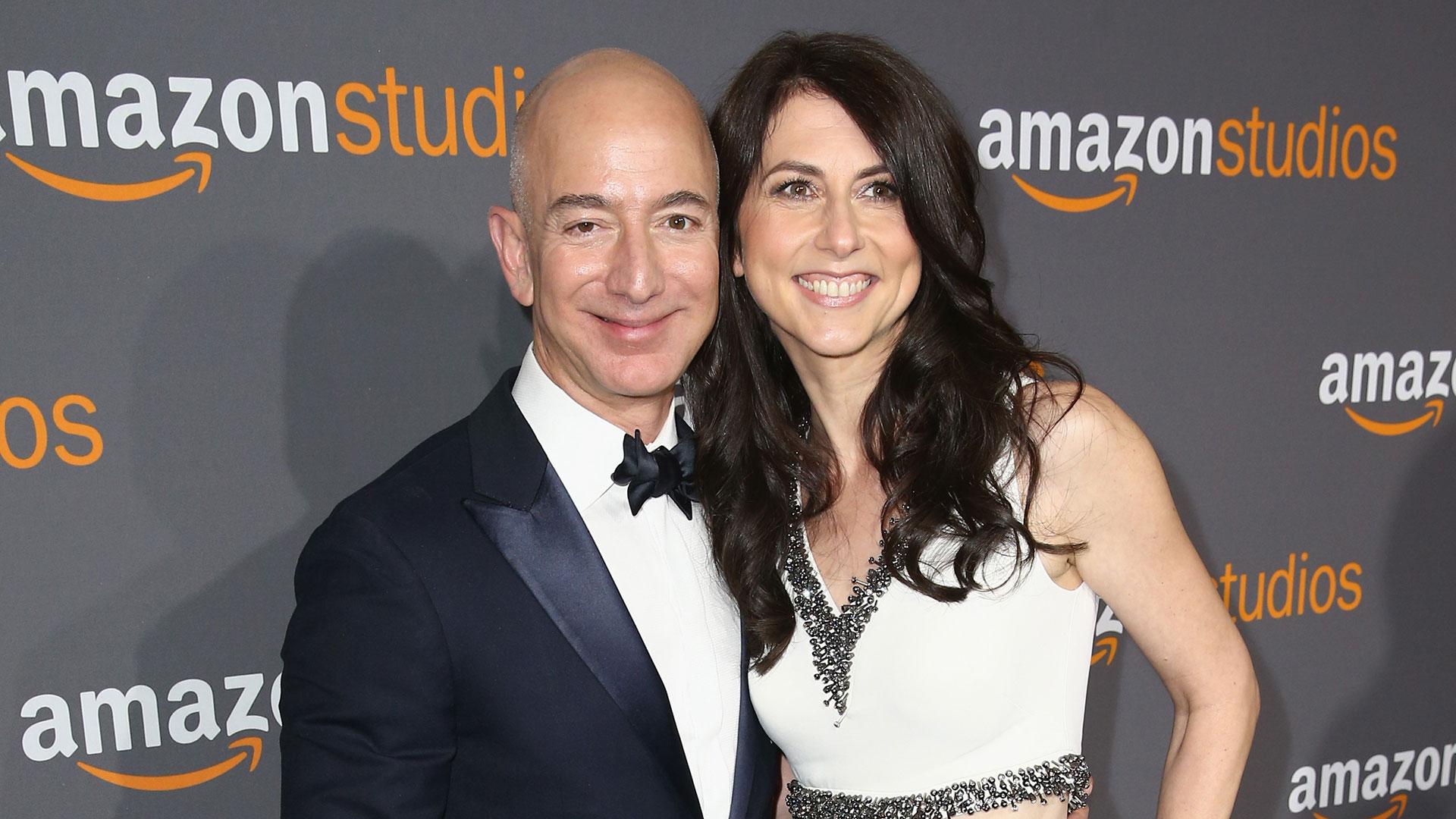 Jeff y MacKenzie Bezos están casados desde 1993 (Getty)