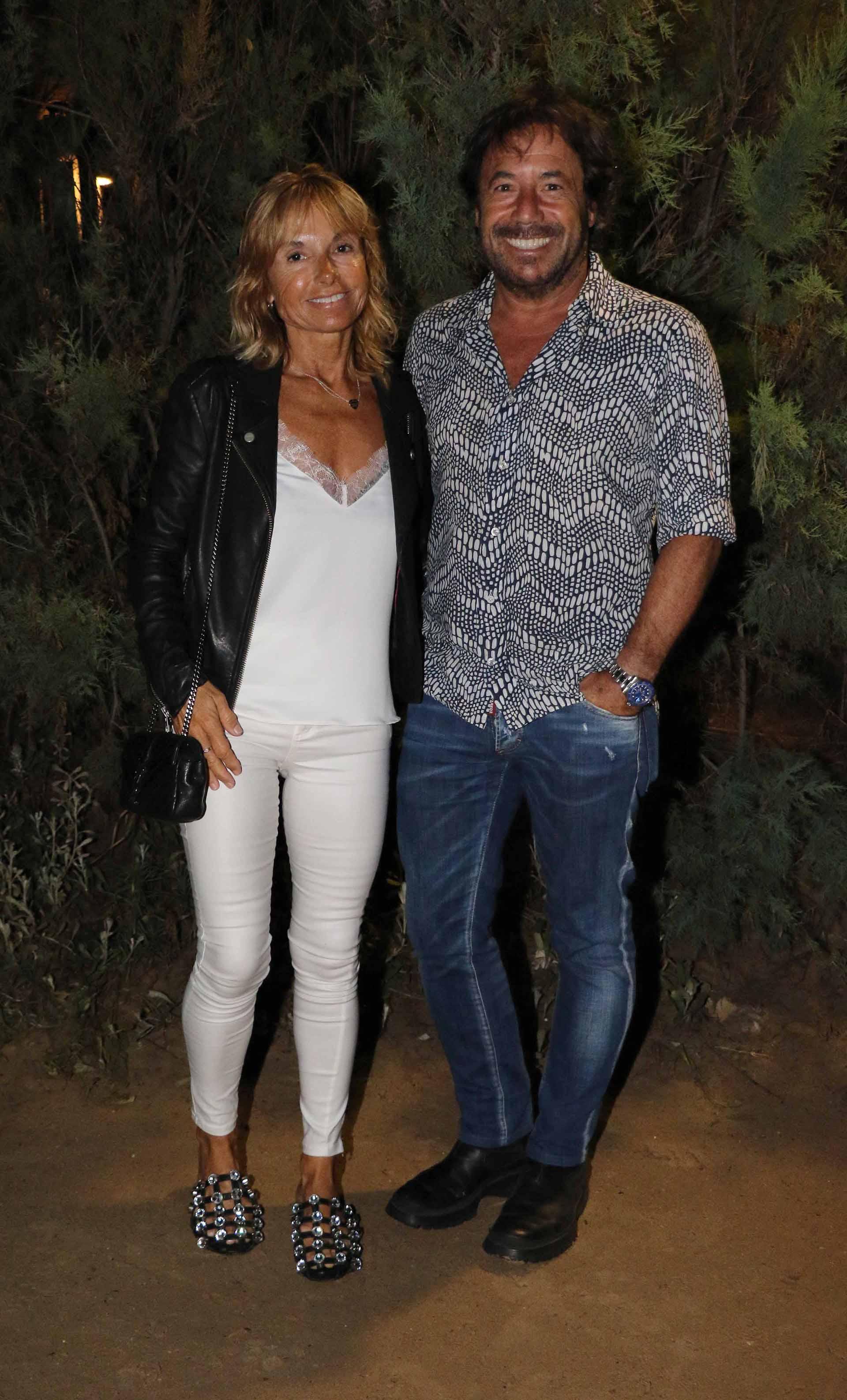 Ricky Sarkany y Graciela Papini