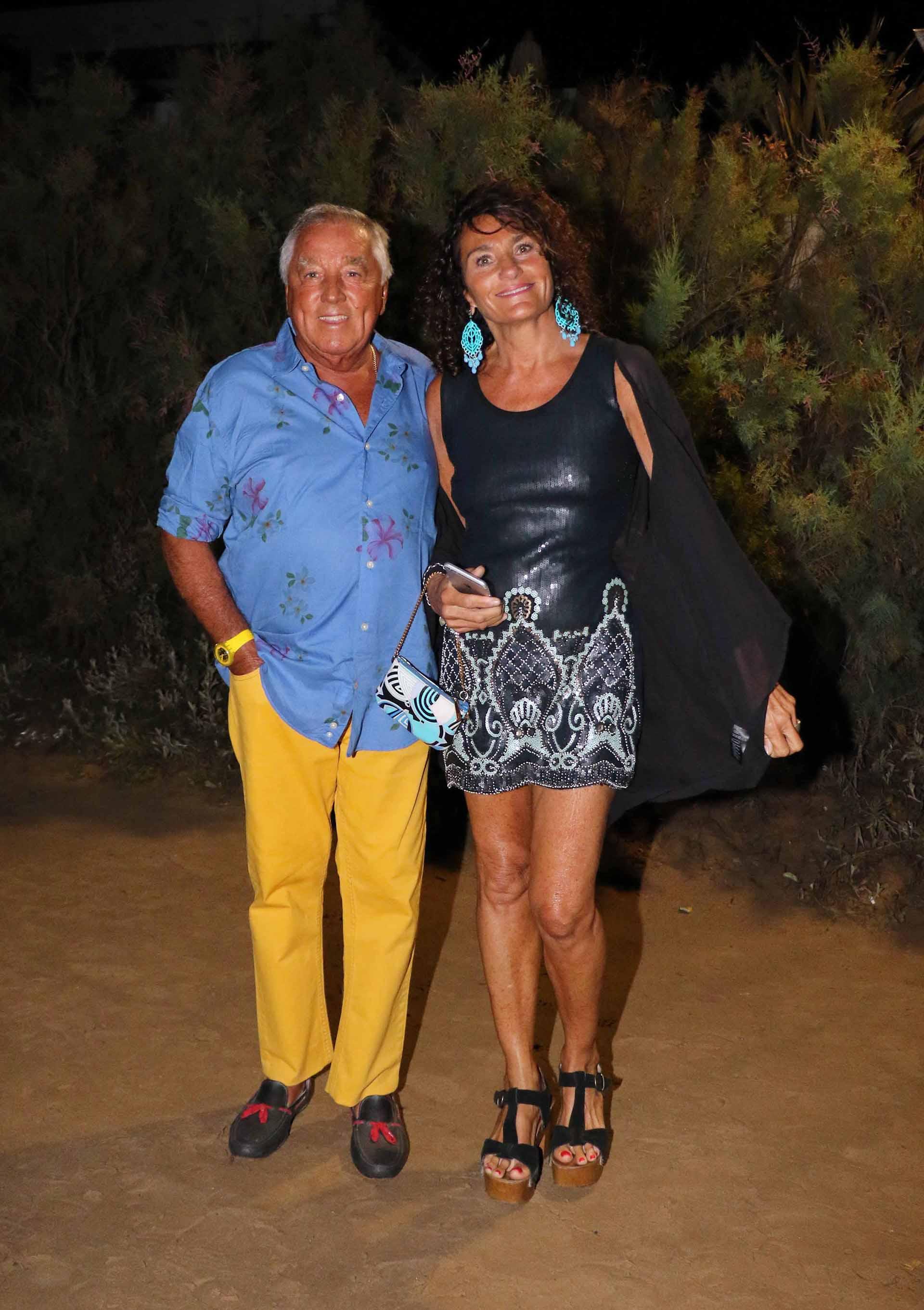 Julio De Marco, presidente del Gruppo Modena, y su mujer Alejandra Stefani