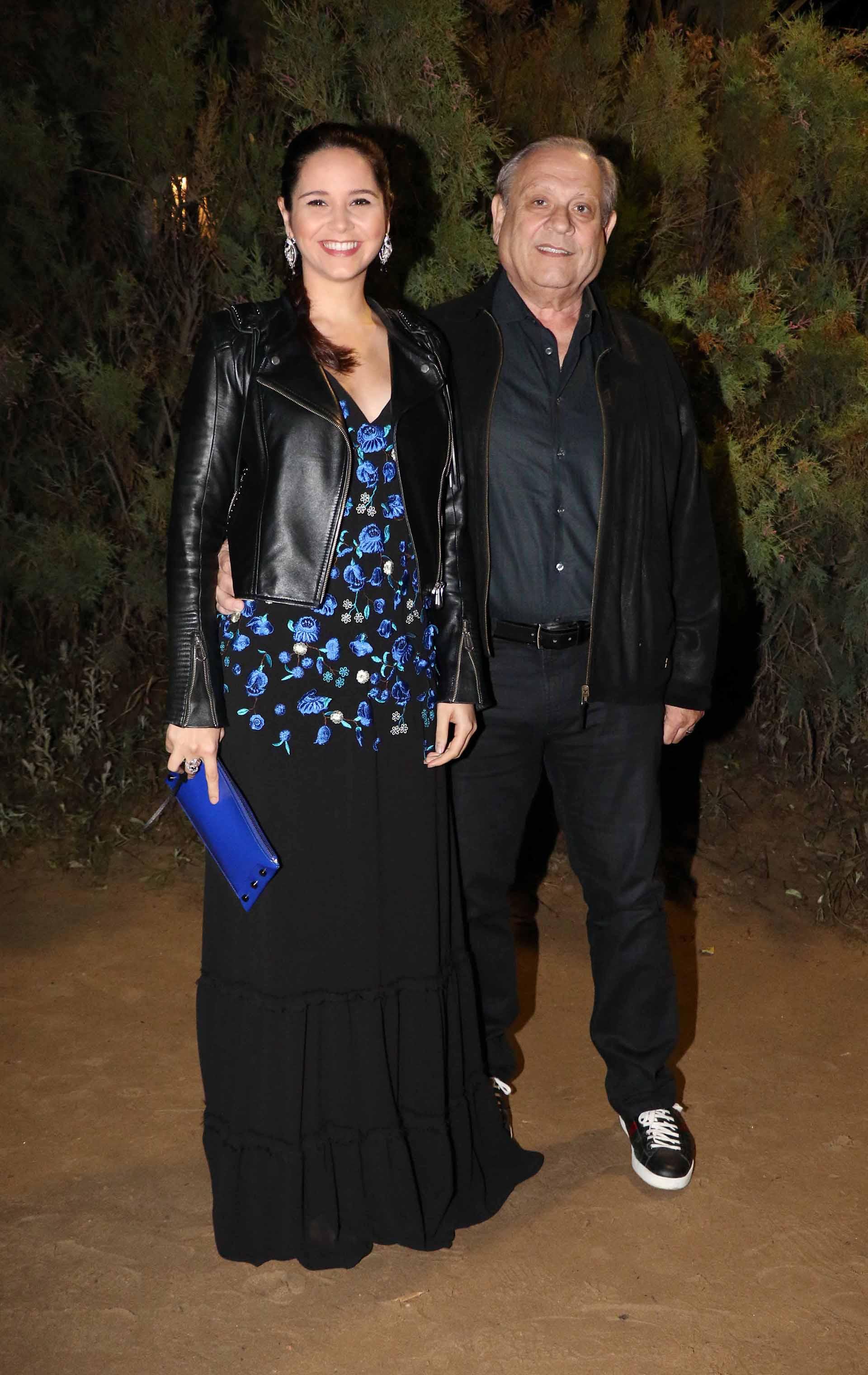 Natalí Márquez, directora creativa de Brezza, junto a su marido, Néstor Abatidaga, director general corporativo del Grupo Sancor Seguros