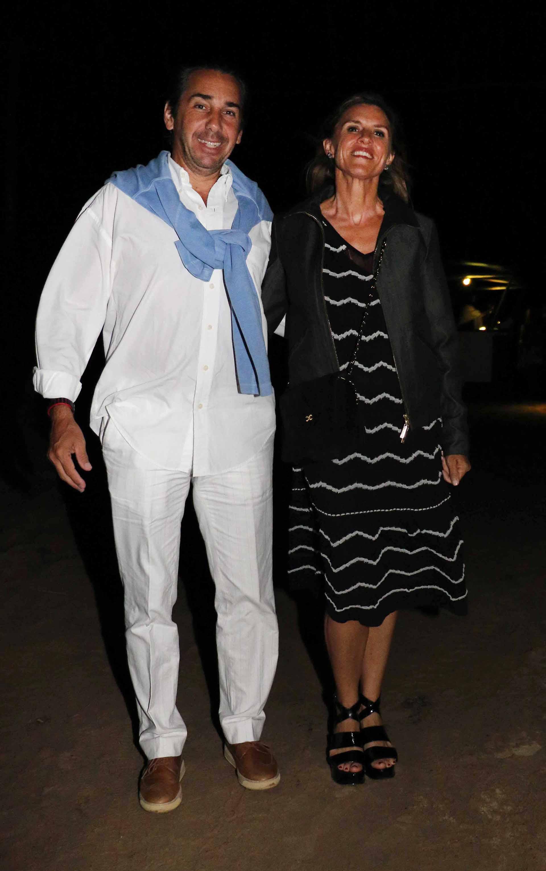 Dicky Smith Estrada y su mujer Gloria Confalonieri de Smith Estrada