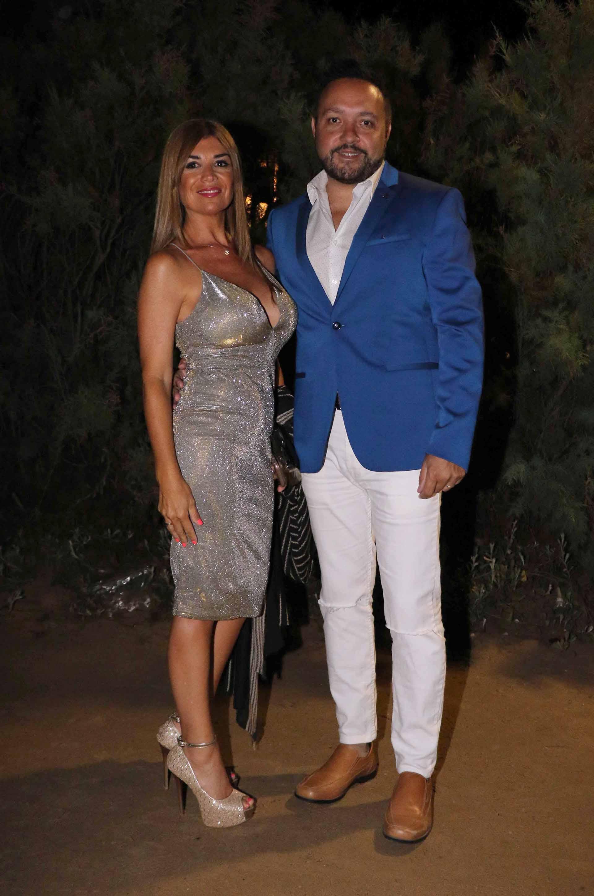 La abogada Lina Anllo y su marido Diego Cani