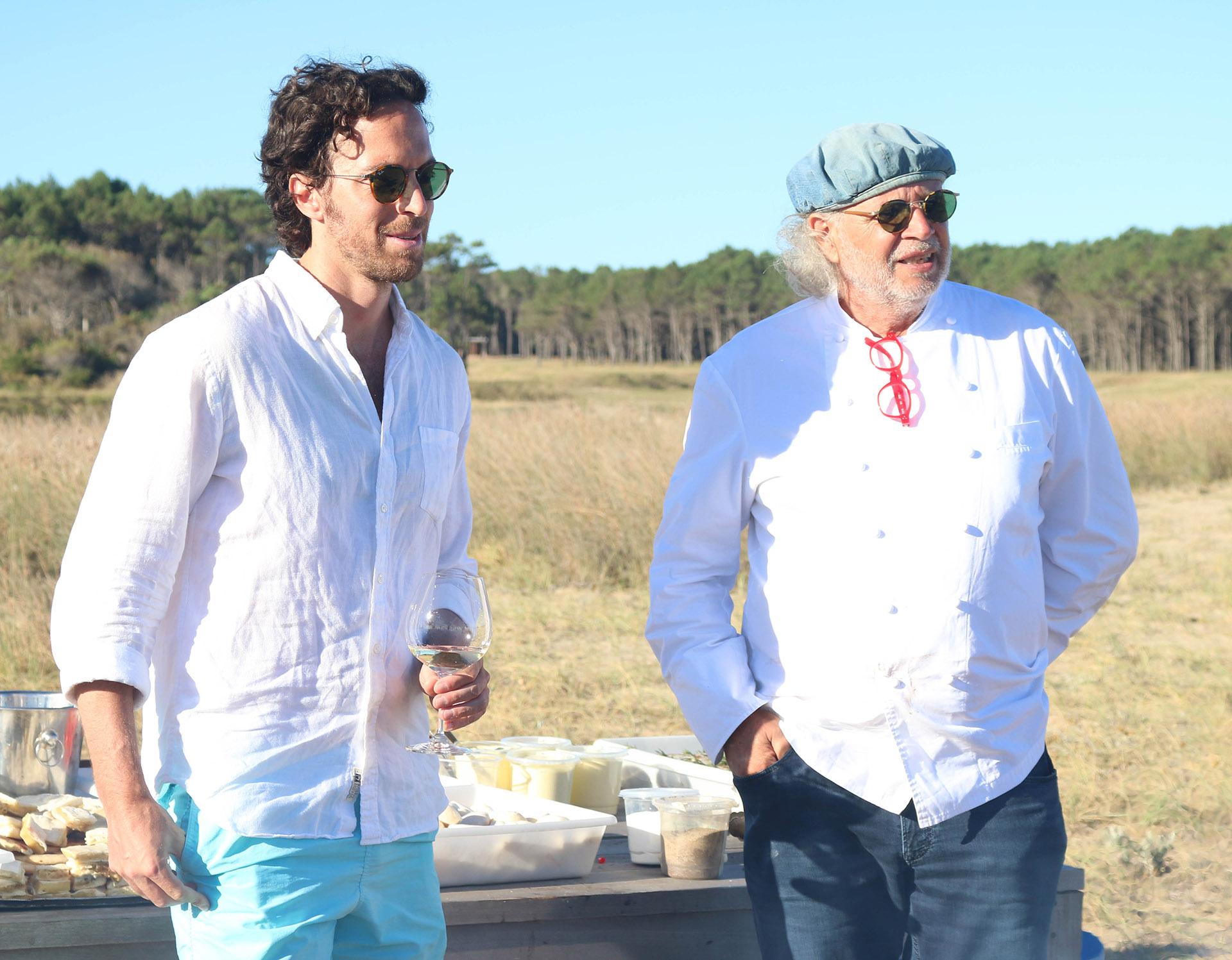 Roger Zaldivar y Francis Malmann