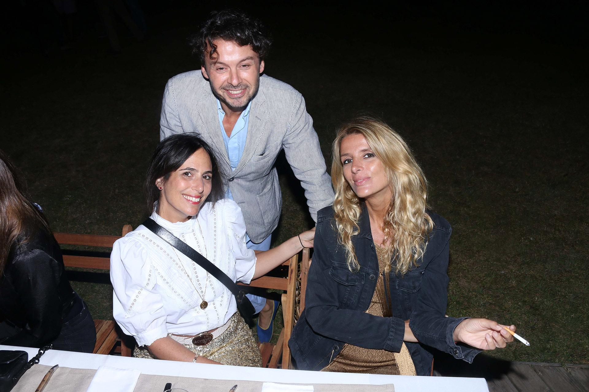 Wally Diamante, Lucila Sperber y Andrea Martínez