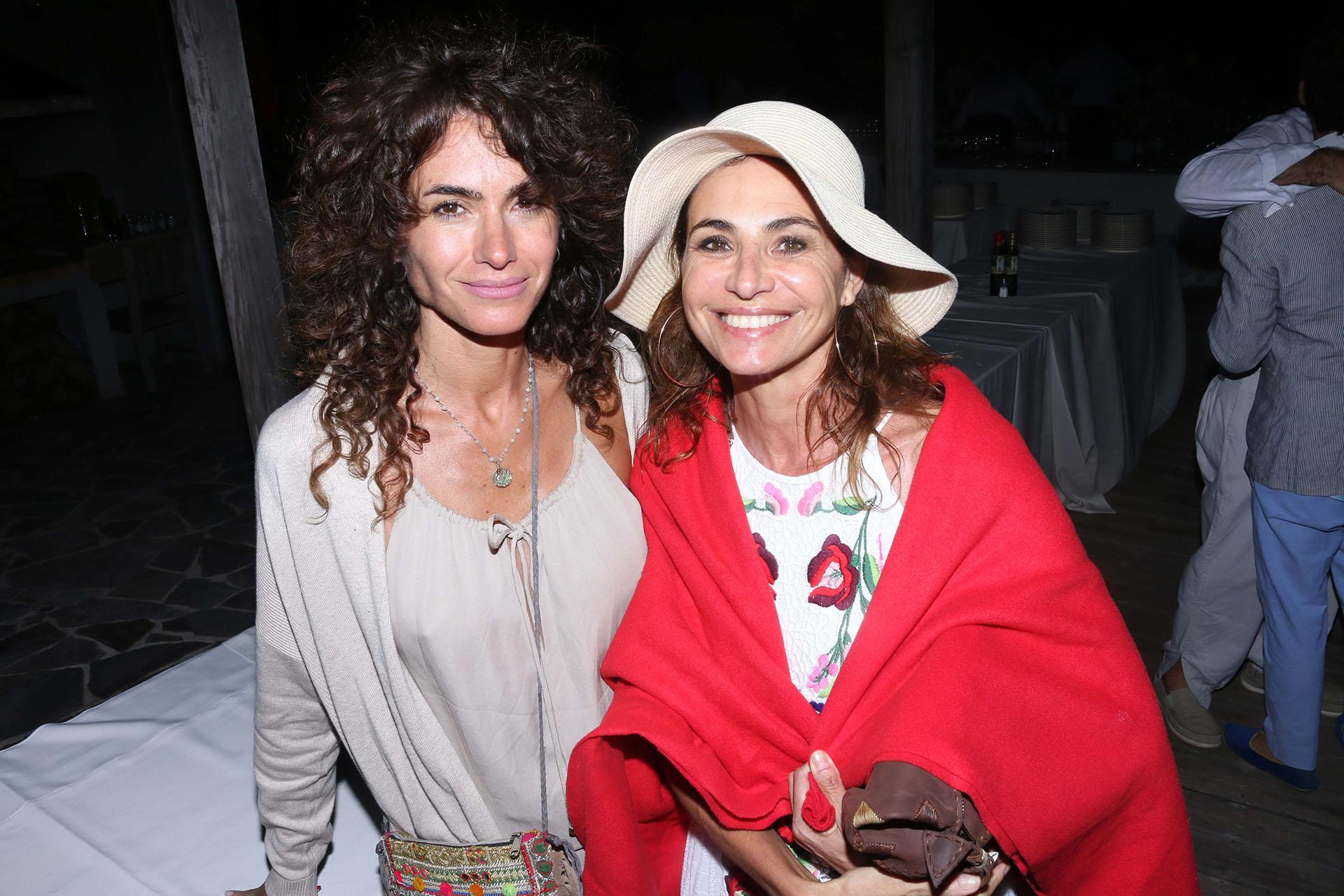 Florencia Raggi y Natalia Lobo
