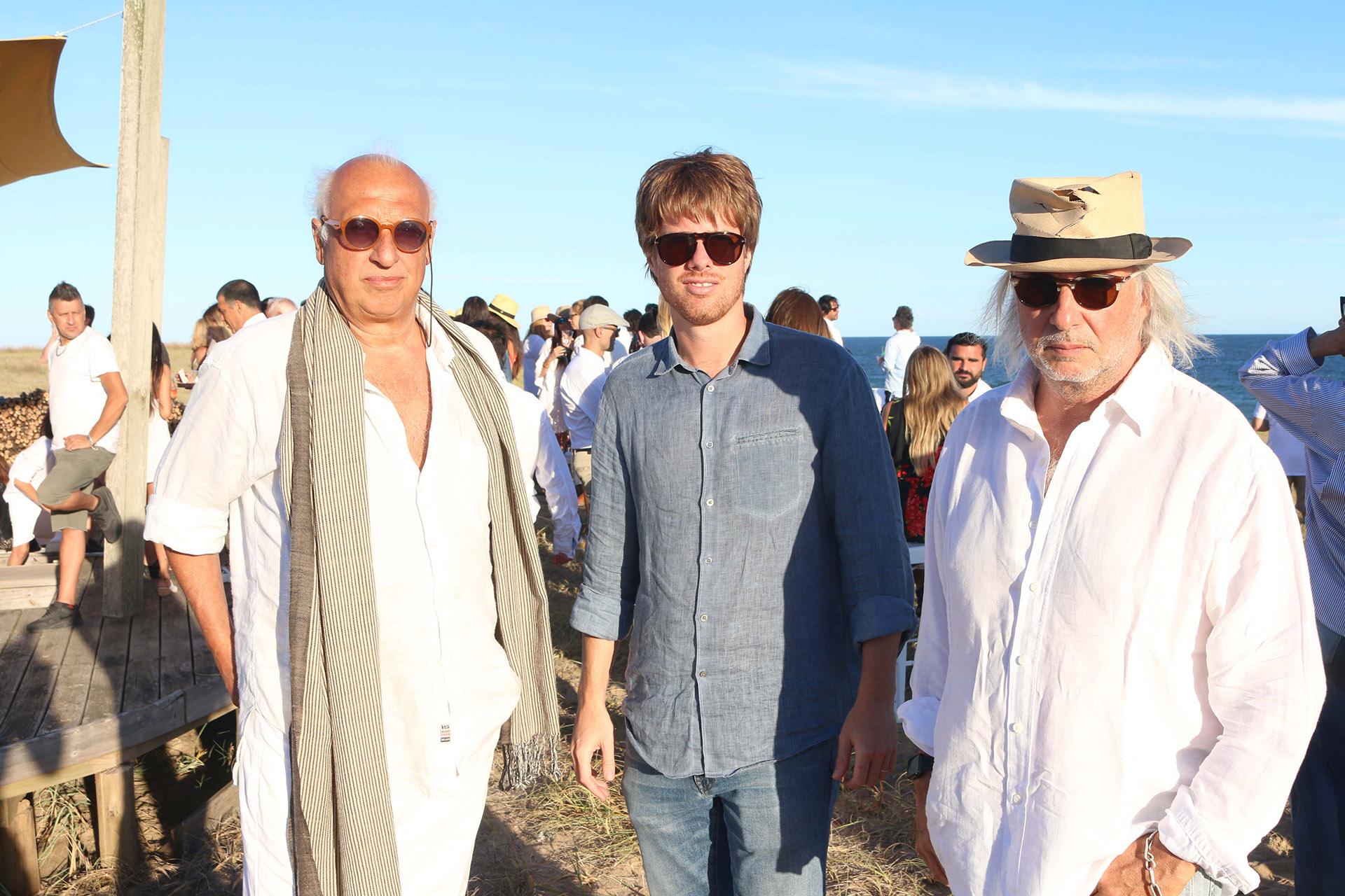 José Nogerol, Agustín Campos y Pablo Sánchez Elía