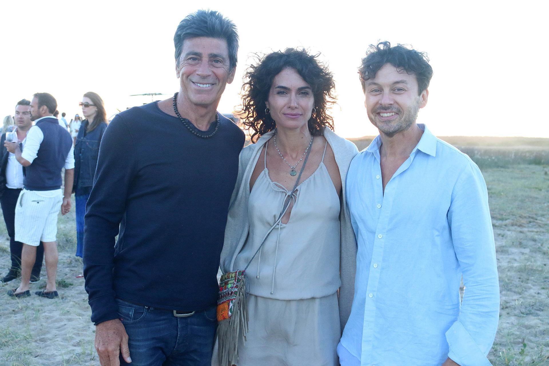 Nicolás Repetto, Florencia Raggi y Wally Diamante en Las Cárcavas