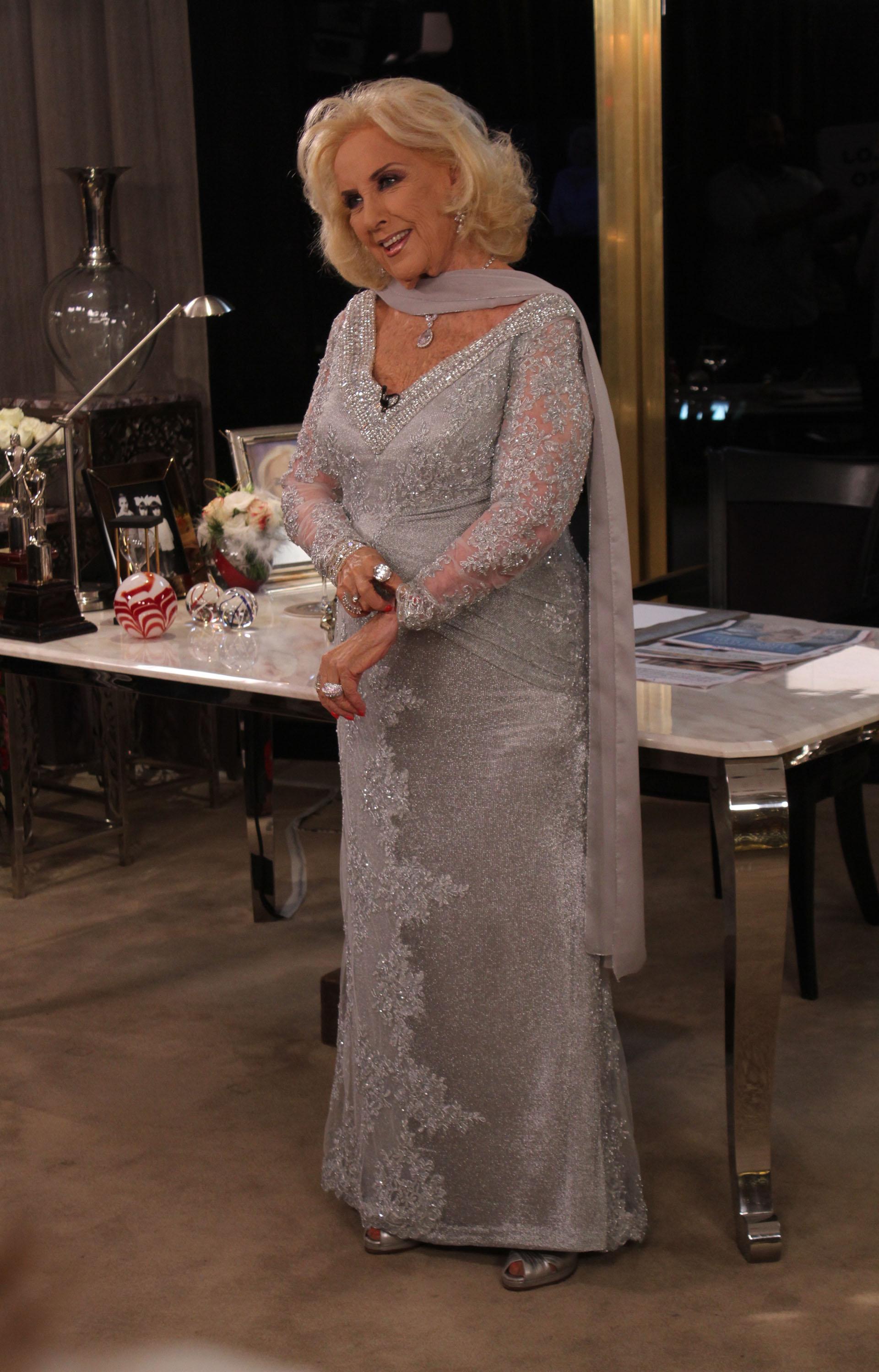 Mirtha se mostró contenta de poder regresar a la televisión desde La Feliz
