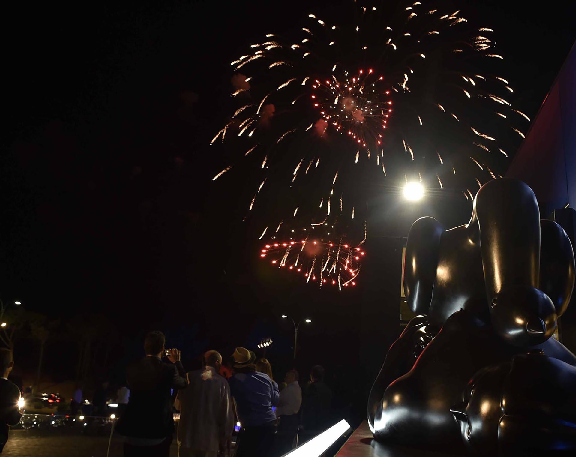 La gran noche culminó con un show de fuegos artificiales /// Fotos: GM Press Punta