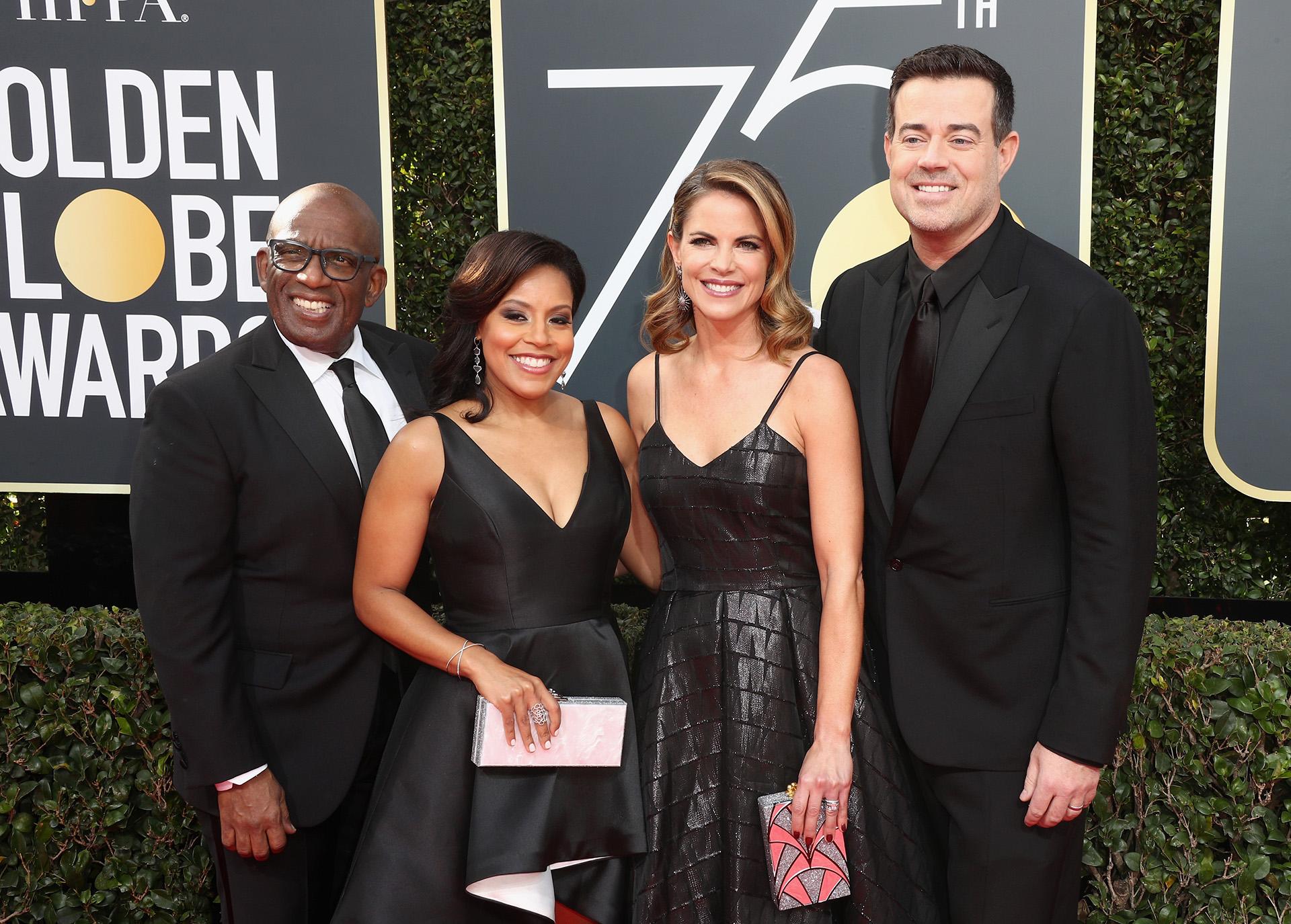 Al Roker, Sheinelle Jones, Natalie Morales y Carson Daly (AFP)