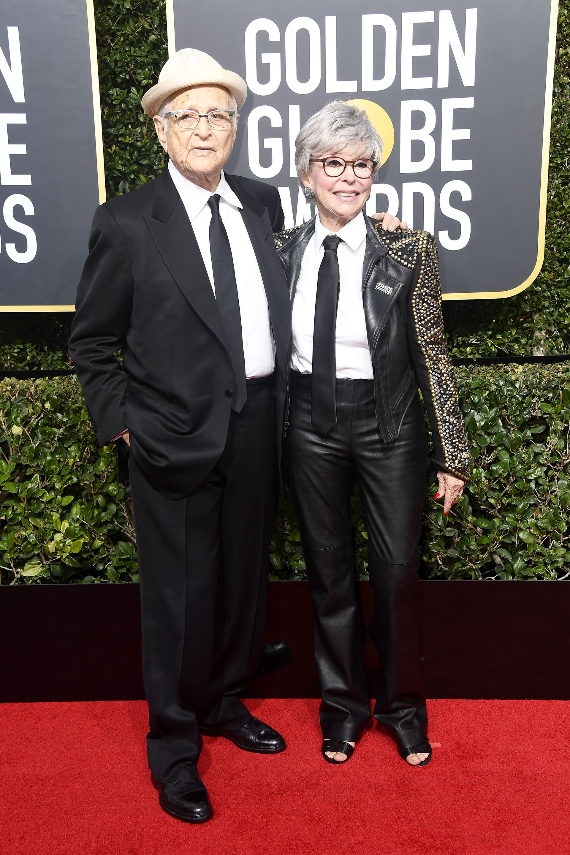 Norman Lear and Lyn Lear (AFP)