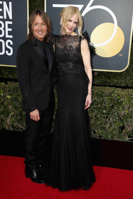 Keith Urban y Nicole Kidman (AFP)