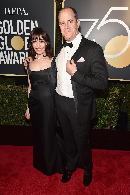 David Nevins y Andrea Nevins (AFP)