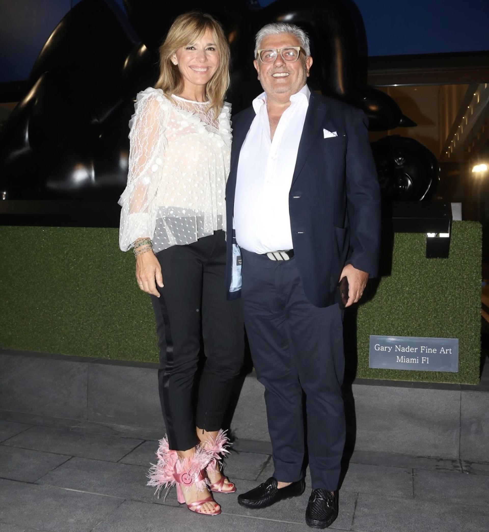 Grace Ratto y Carlos Gorosito