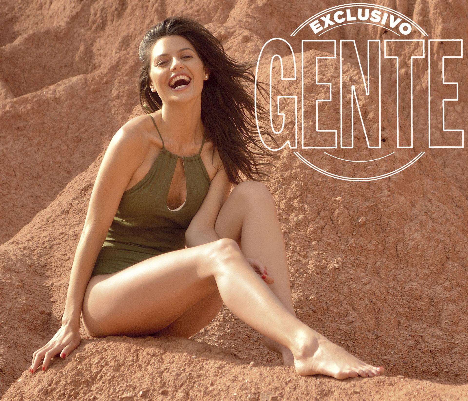 """Sofía """"Jujuy"""" Jiménez en su provincia donde realizó una producción increíble para GENTE en los paisajes soñados del norte argentino. Foto: Paula Toffolo para GENTE"""