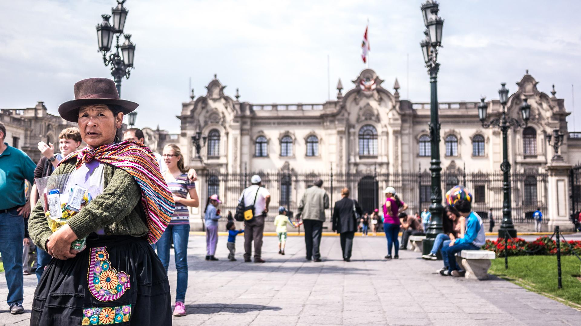 Lima, una ciudad de contrastes, donde la tradición y el modernismo transitan de la mano (Getty)