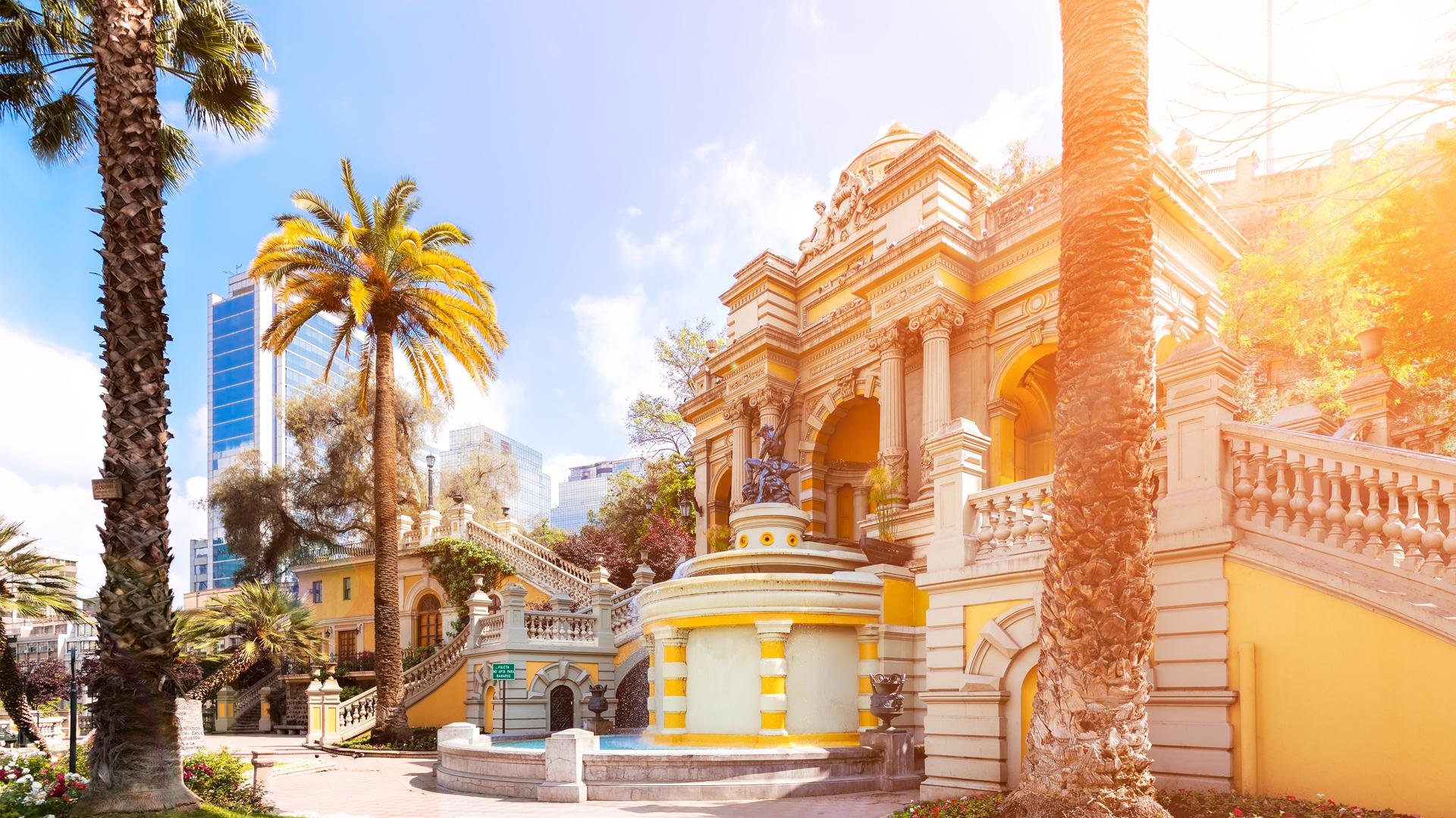 La arquitectura de Santiago de Chile es uno de sus grandes atractivos (Getty)